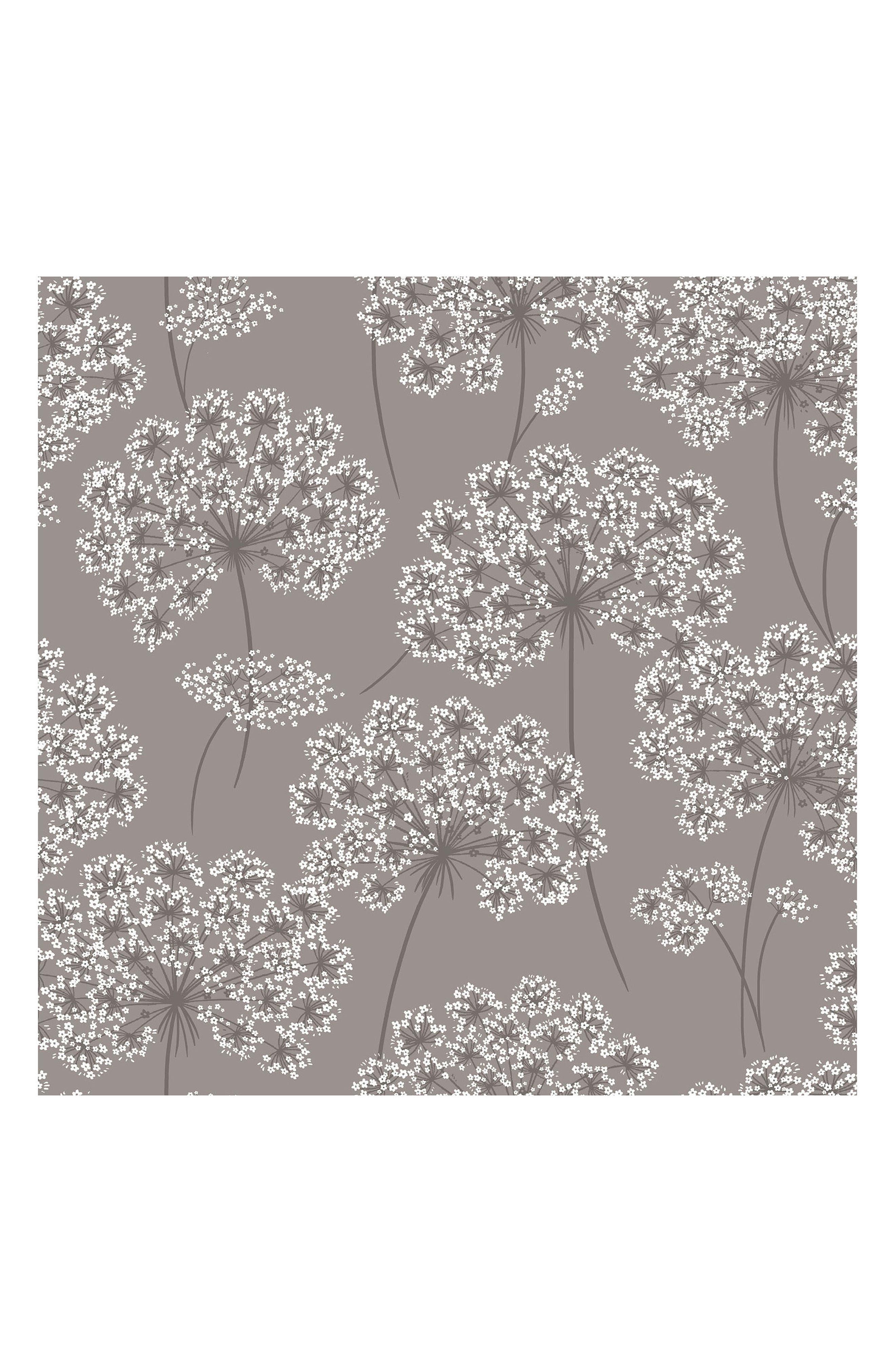 Angelica Peel & Stick Vinyl Wallpaper,                         Main,                         color, Grey