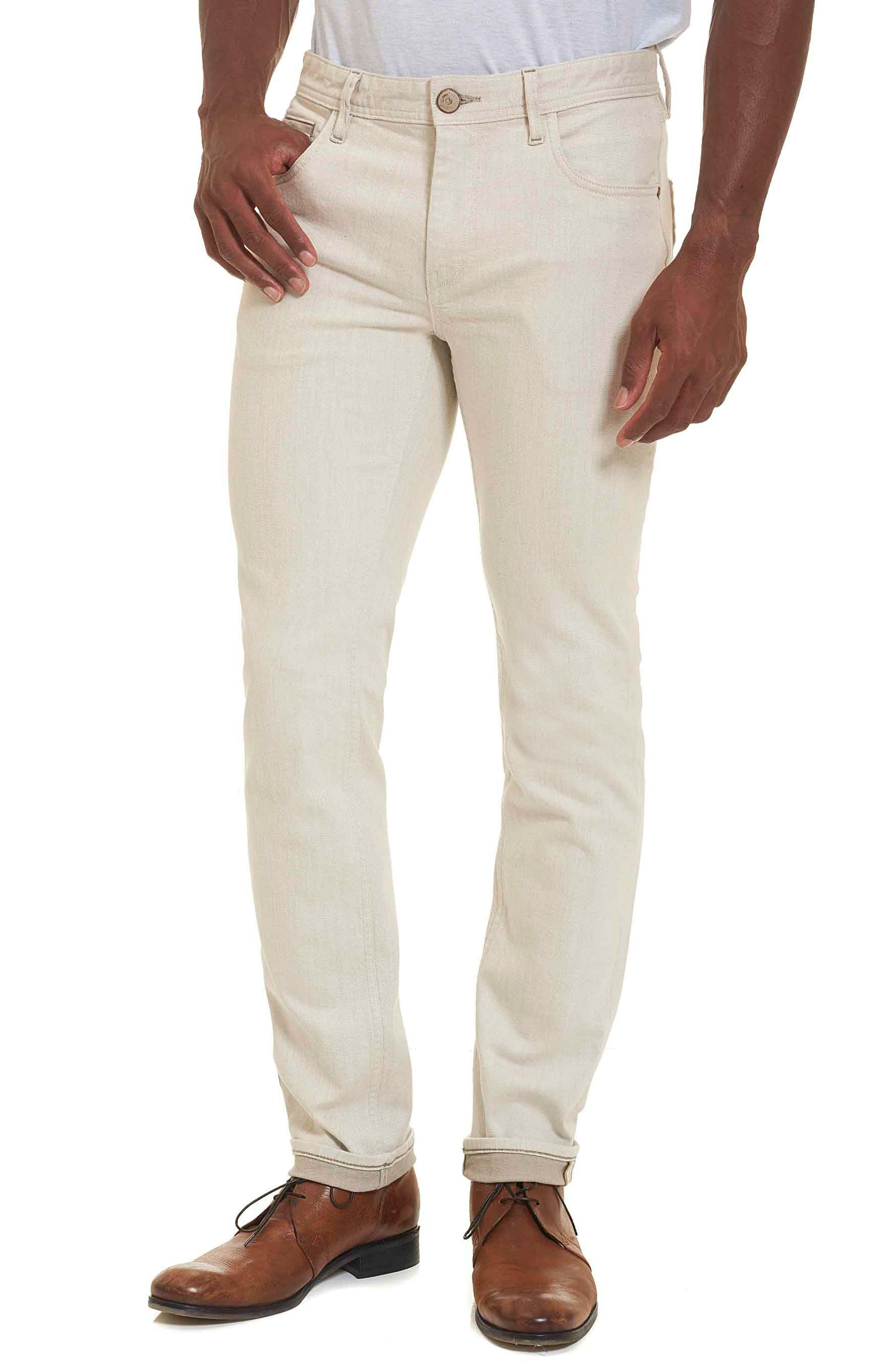Robert Graham Gonzales Jeans (Stone)