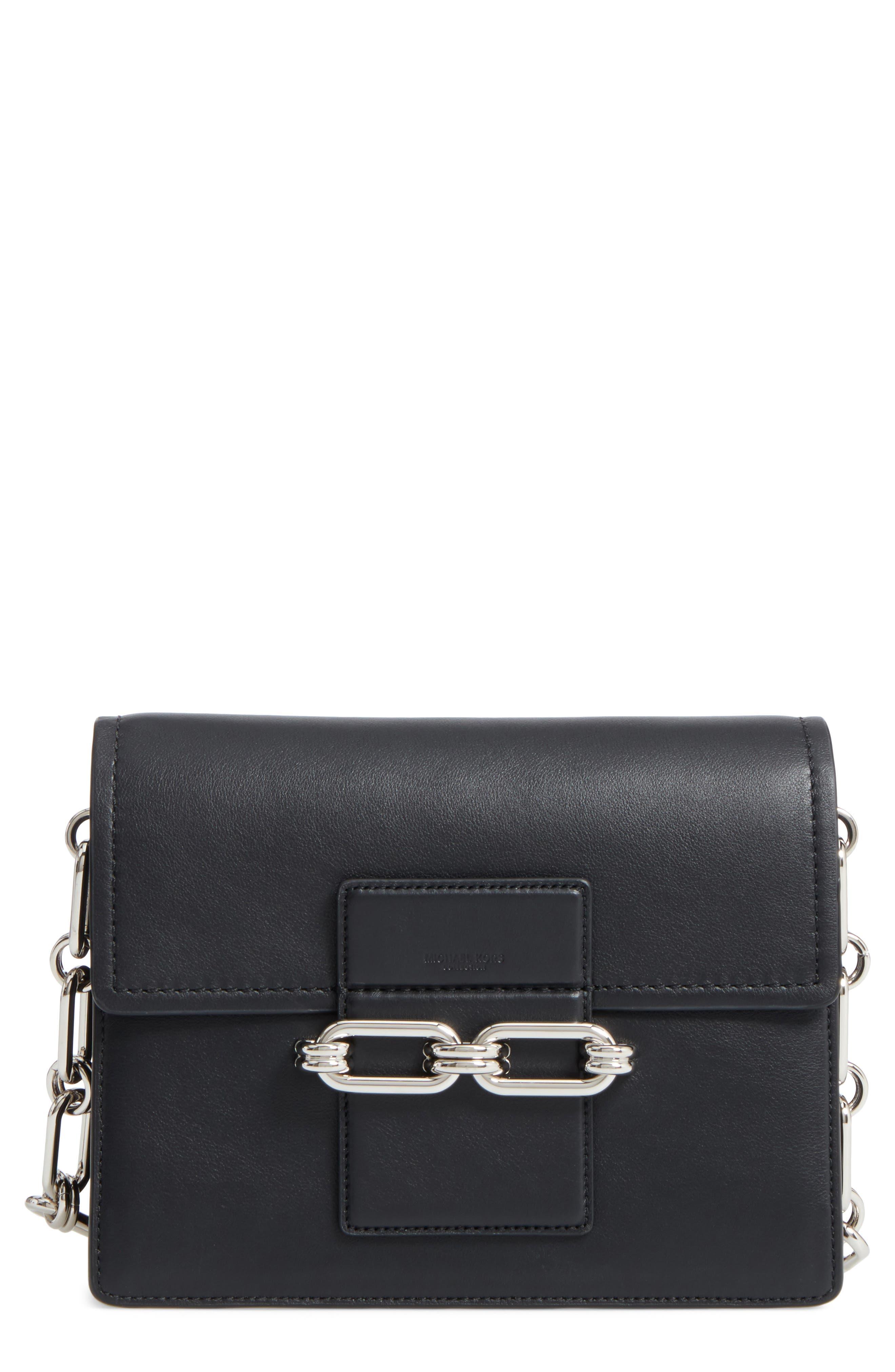 Medium Shoulder Bag,                             Main thumbnail 1, color,                             Black