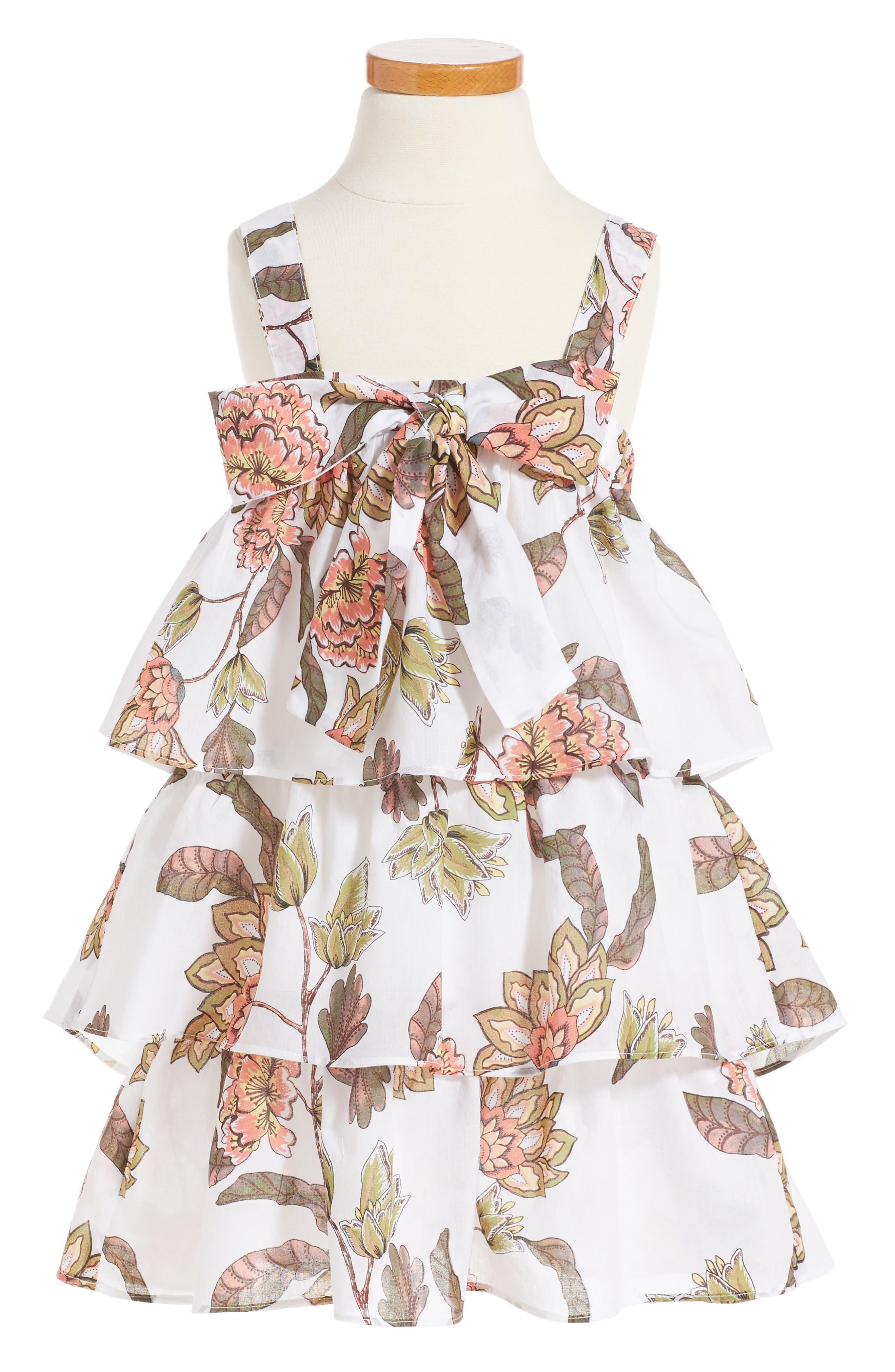 LIL LEMONS BY FOR LOVE & LEMONS For Love & Lemons Flower Power Tank Dress