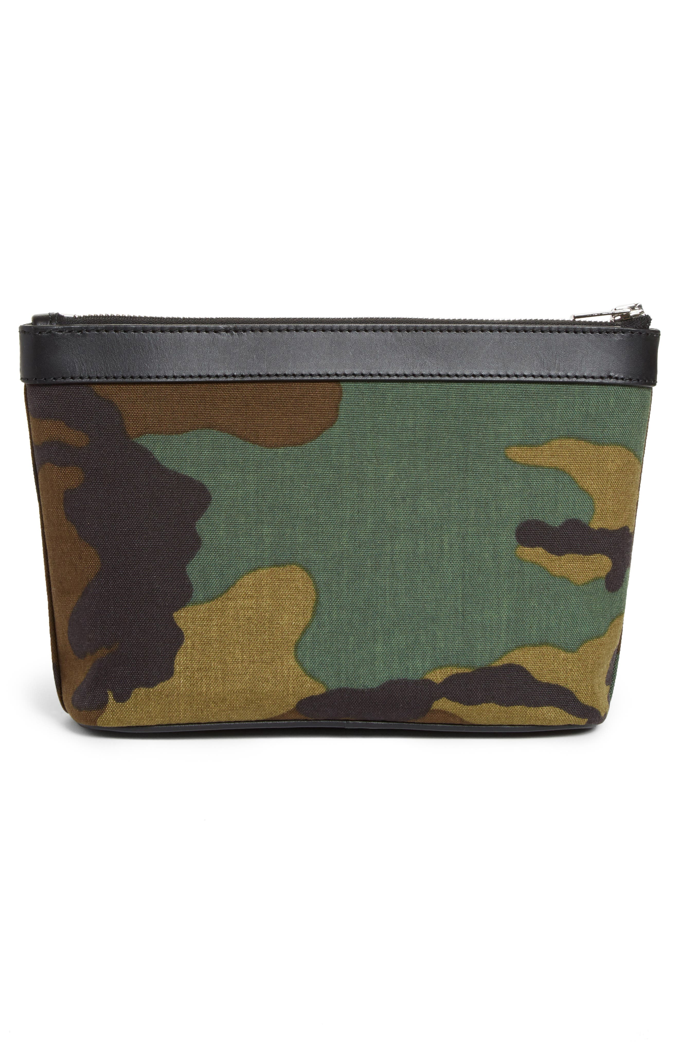 Alternate Image 3  - Alexander Wang Small Camo Canvas Pouch
