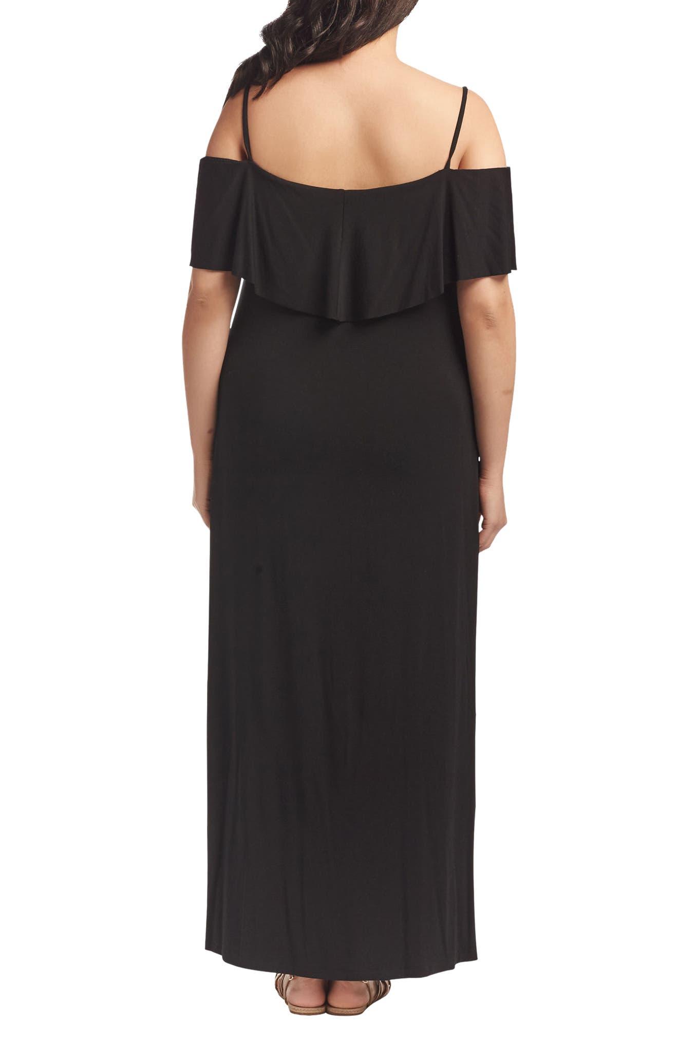 Alternate Image 2  - Tart Tacita Off the Shoulder Maxi Dress (Plus Size)