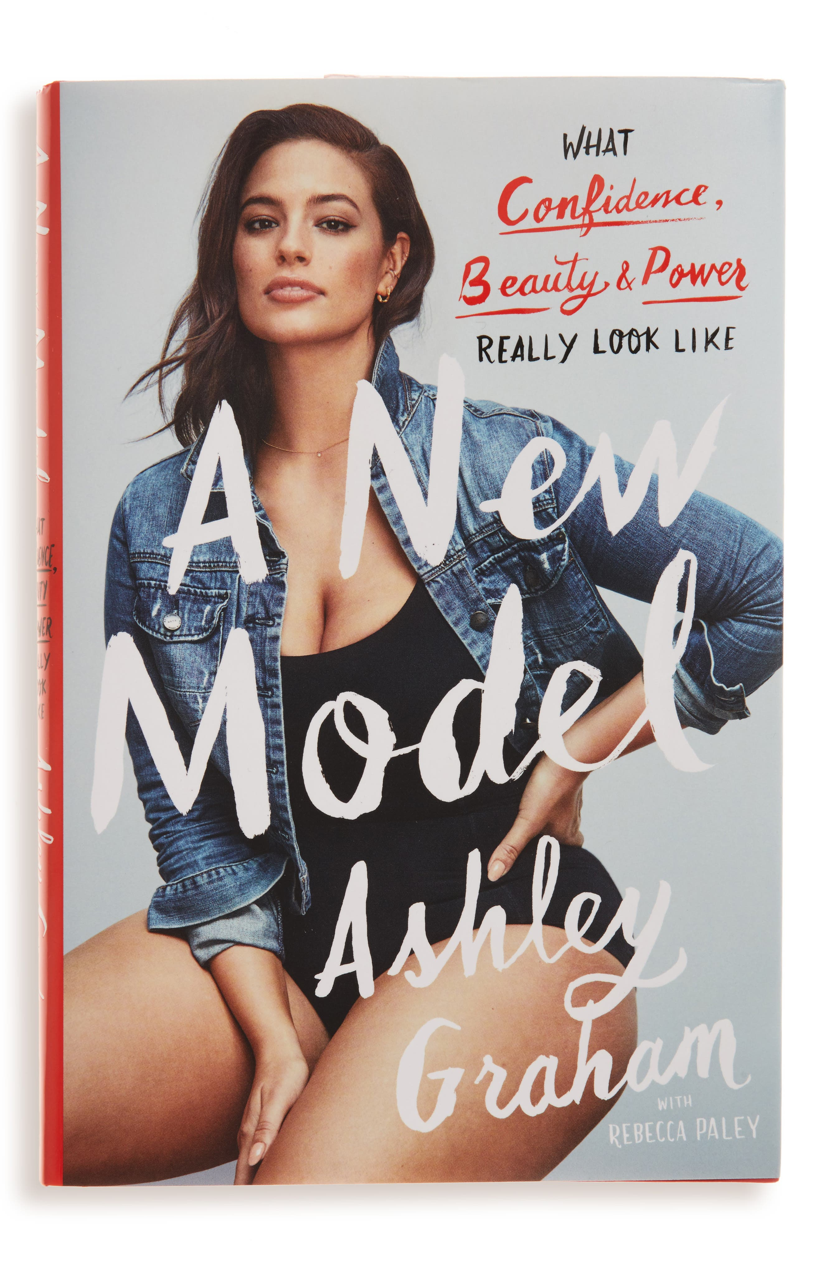 A New Model: What Confidence, Beauty & Power Look Like Book,                         Main,                         color, Blue