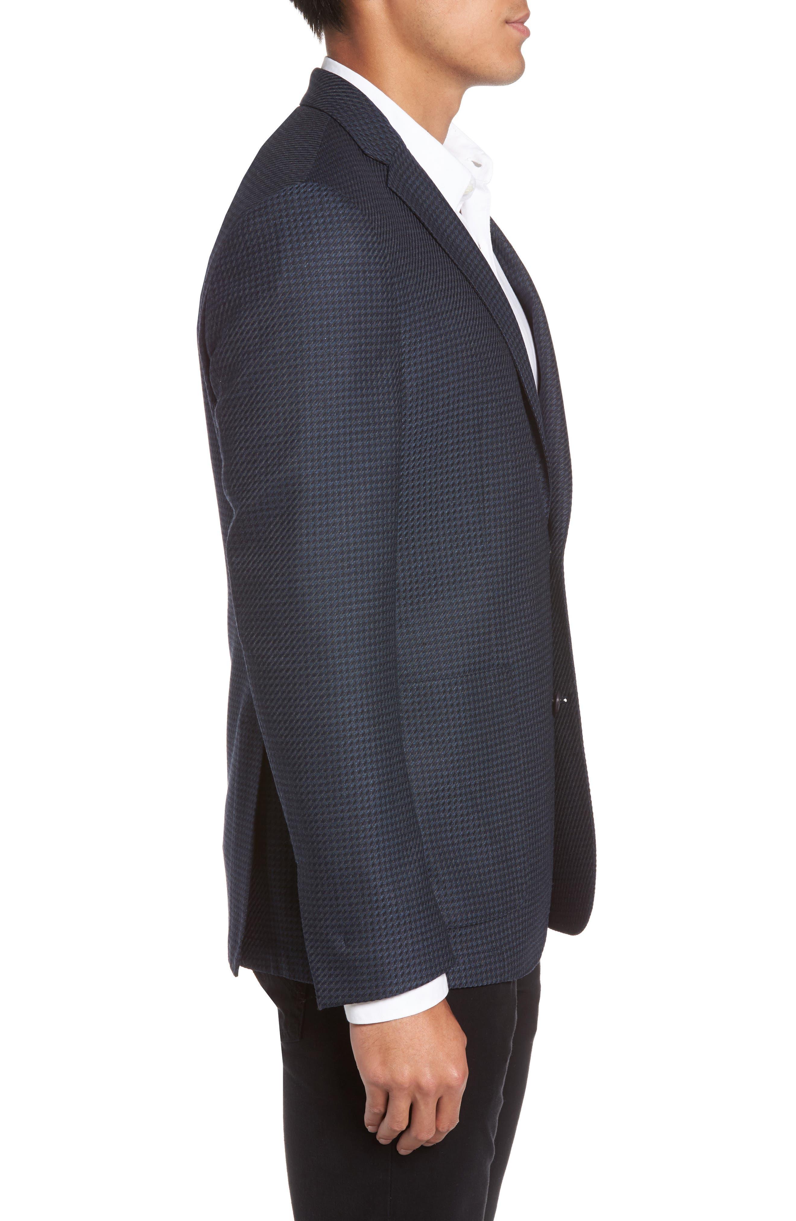 Alternate Image 3  - Vince Camuto Digital Houndstooth Wool Blend Sport Coat
