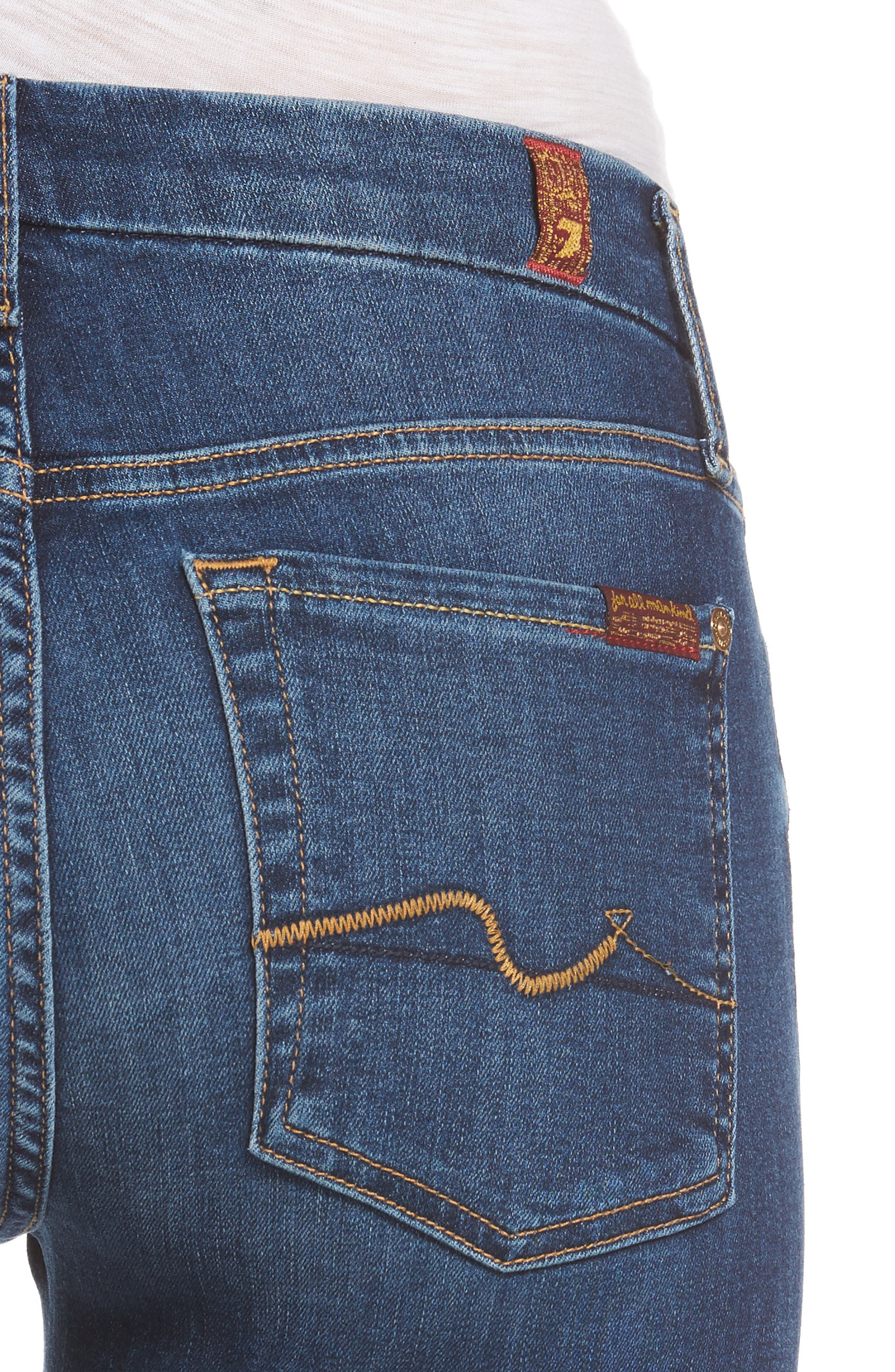 Alternate Image 4  - 7 For All Mankind® Kimmie Bootcut Jeans (Stunning Bleeker)