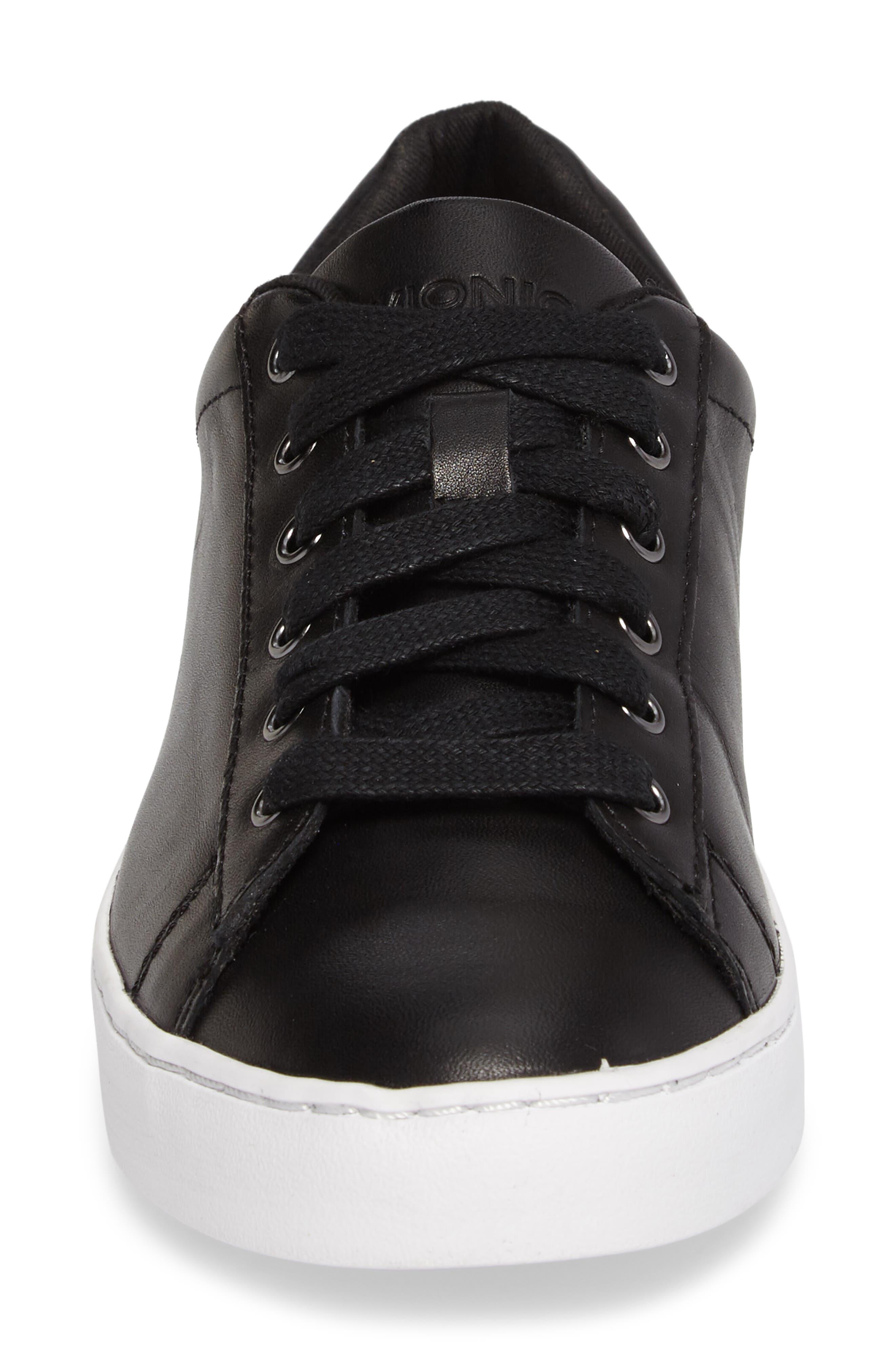 Splendid Syra Sneaker,                             Alternate thumbnail 4, color,                             Black Leather