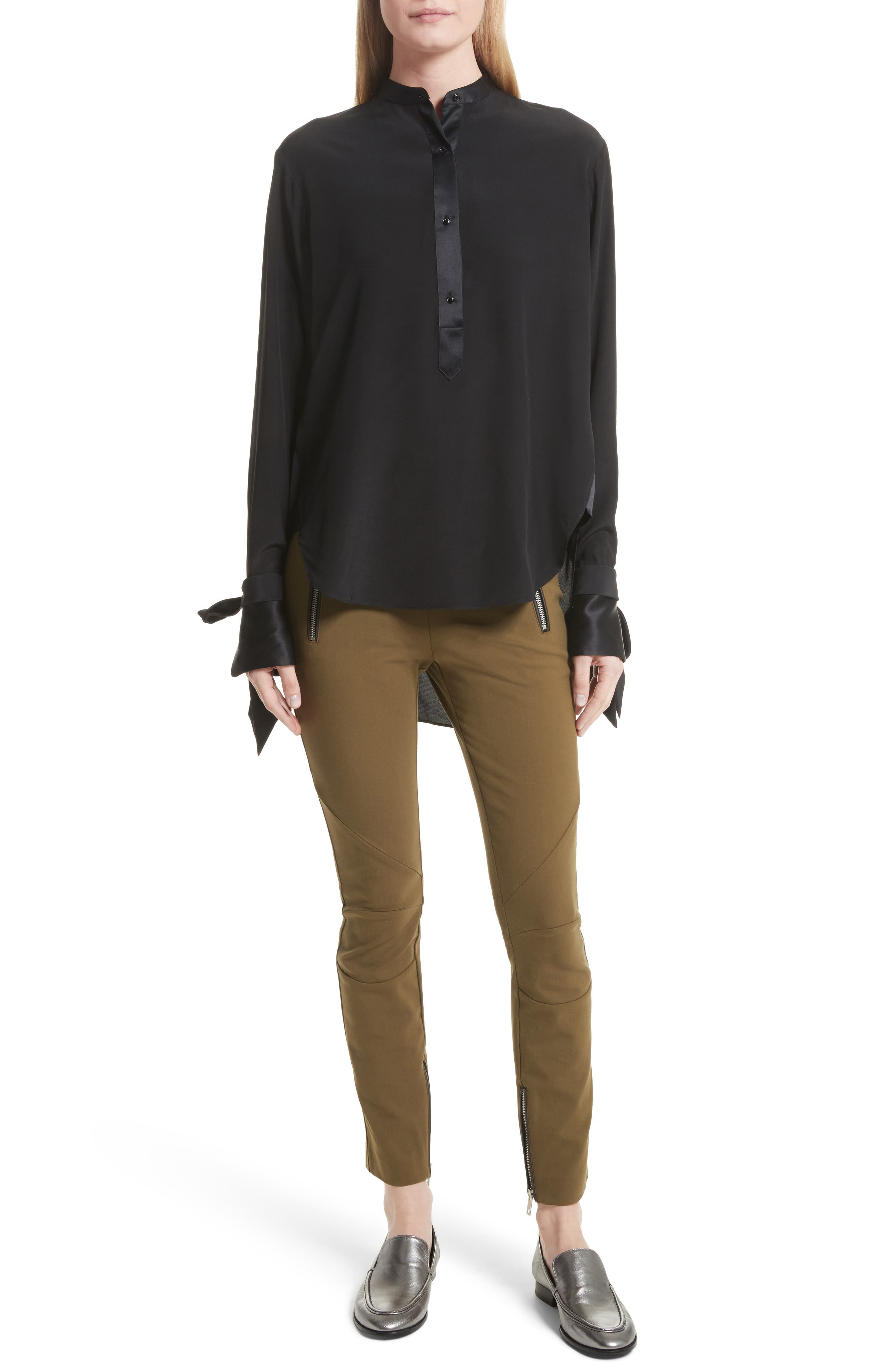 Alternate Image 2  - rag & bone Dylan Silk Shirt