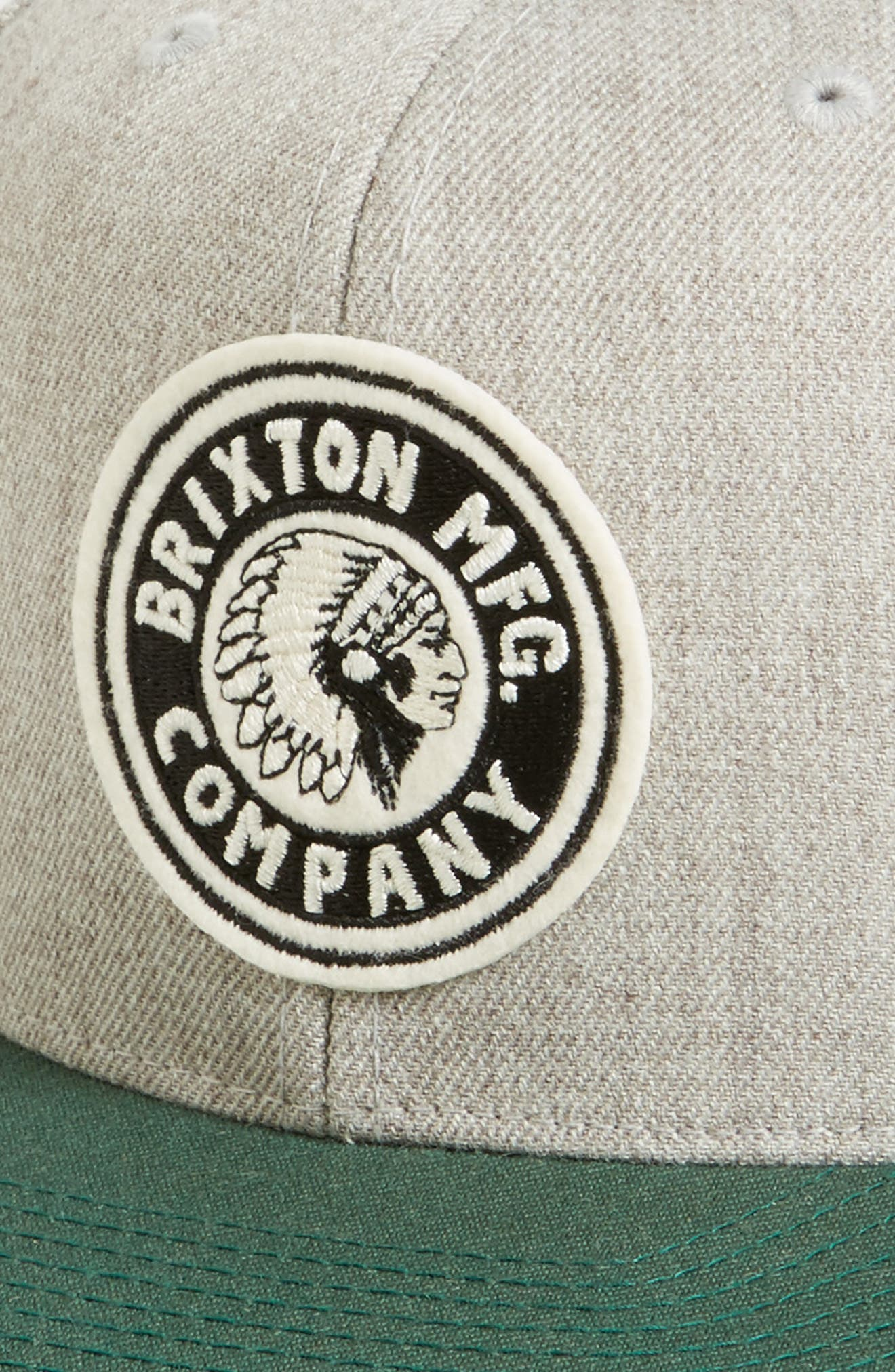 Alternate Image 3  - Brixton Rival Snapback Baseball Cap