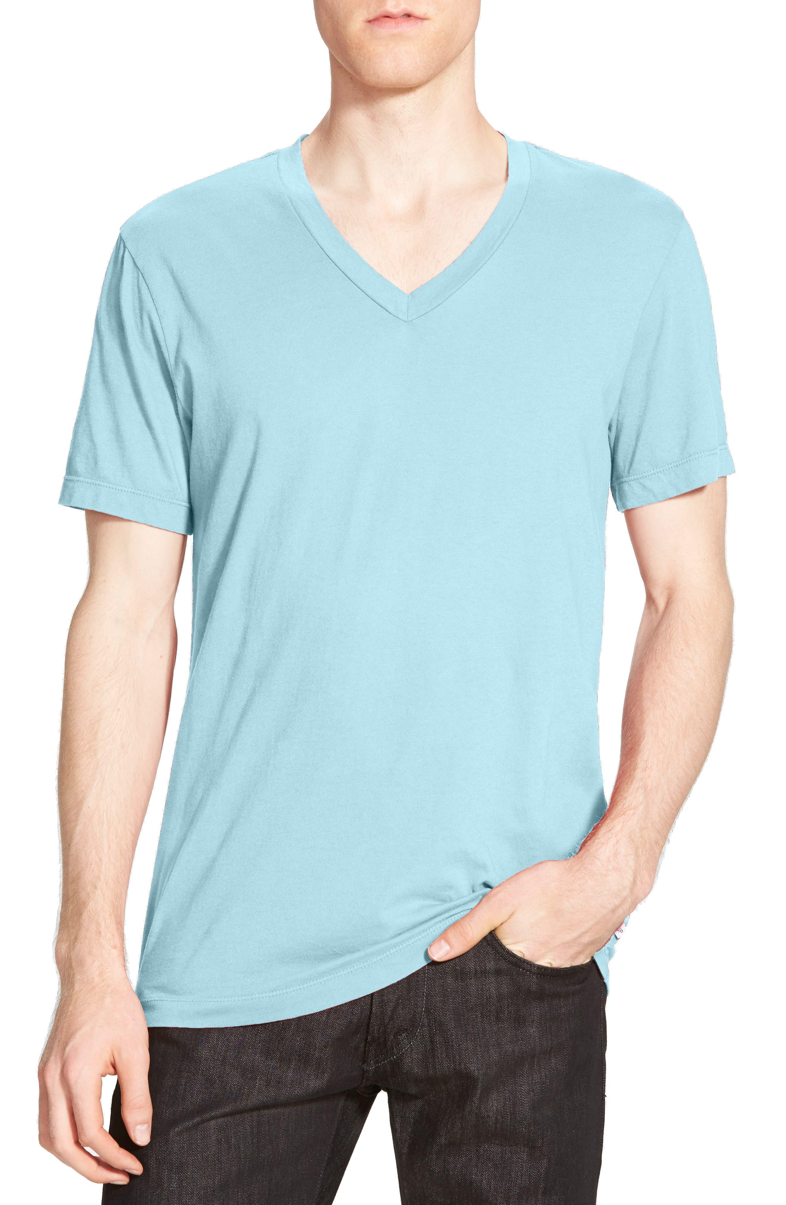 Alternate Image 1 Selected - James Perse Short Sleeve V-Neck T-Shirt