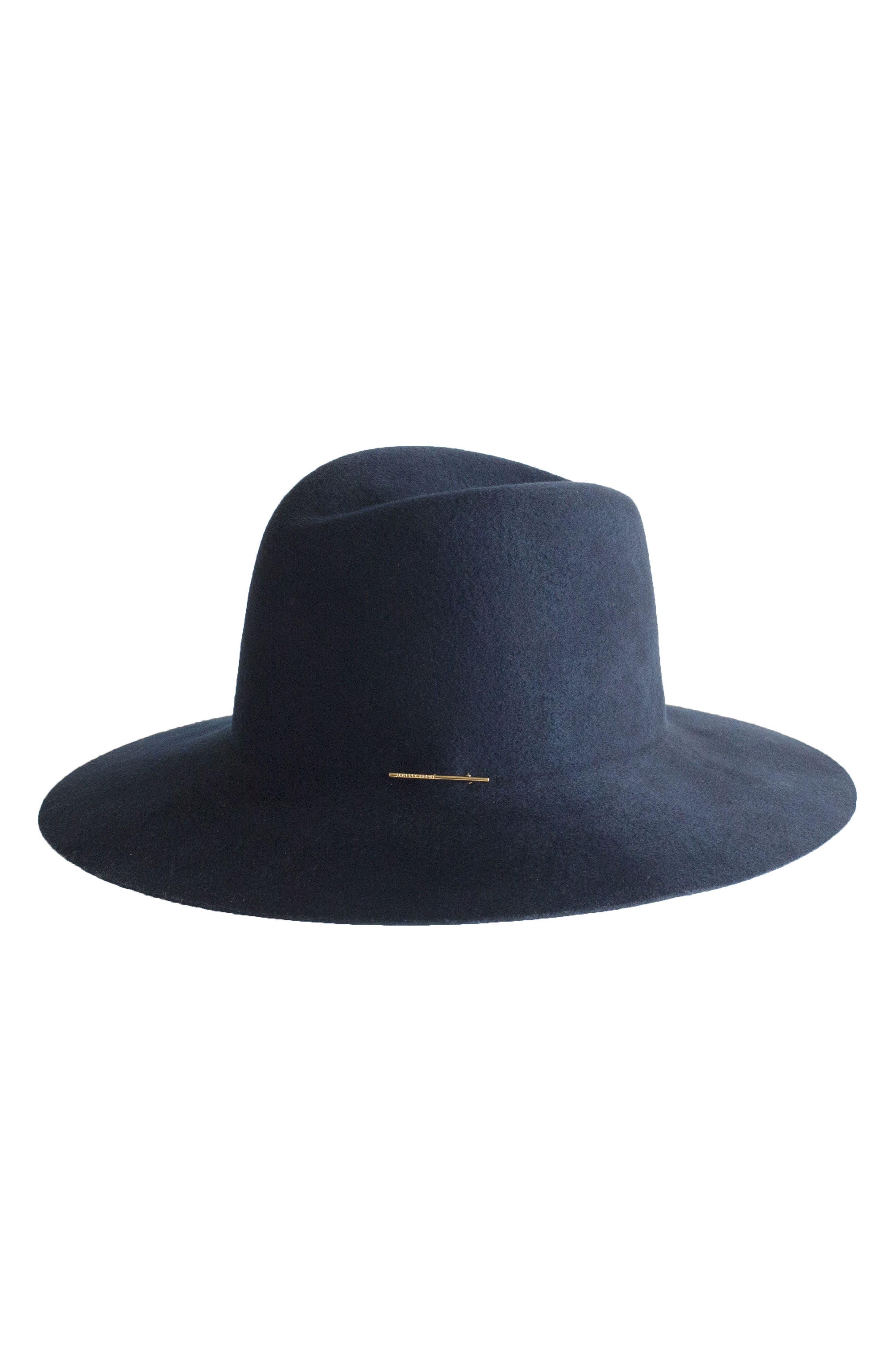 Taylor Wool Hat,                         Main,                         color, Cadet Blue