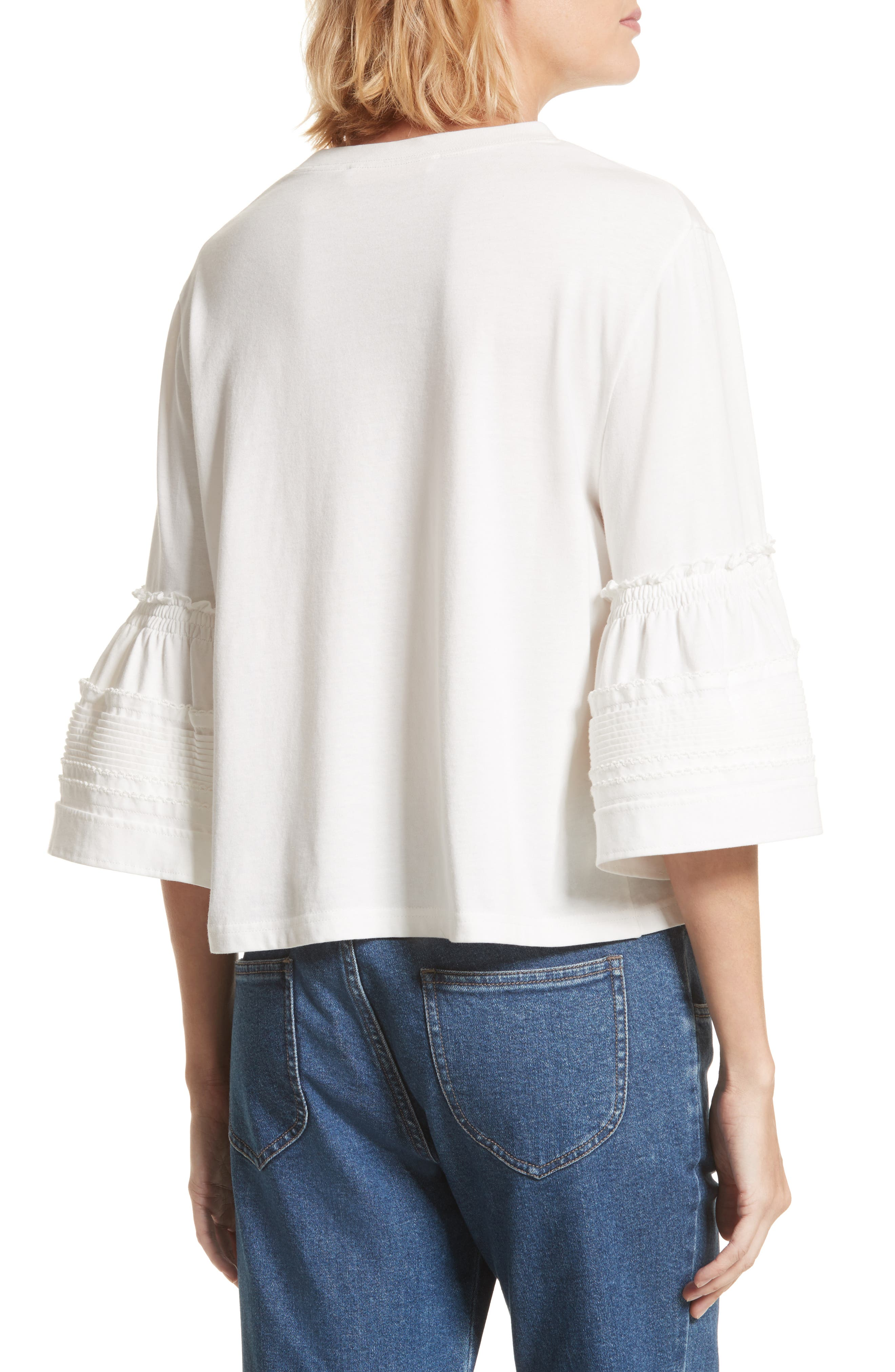 Alternate Image 2  - See by Chloé Bell Sleeve Top