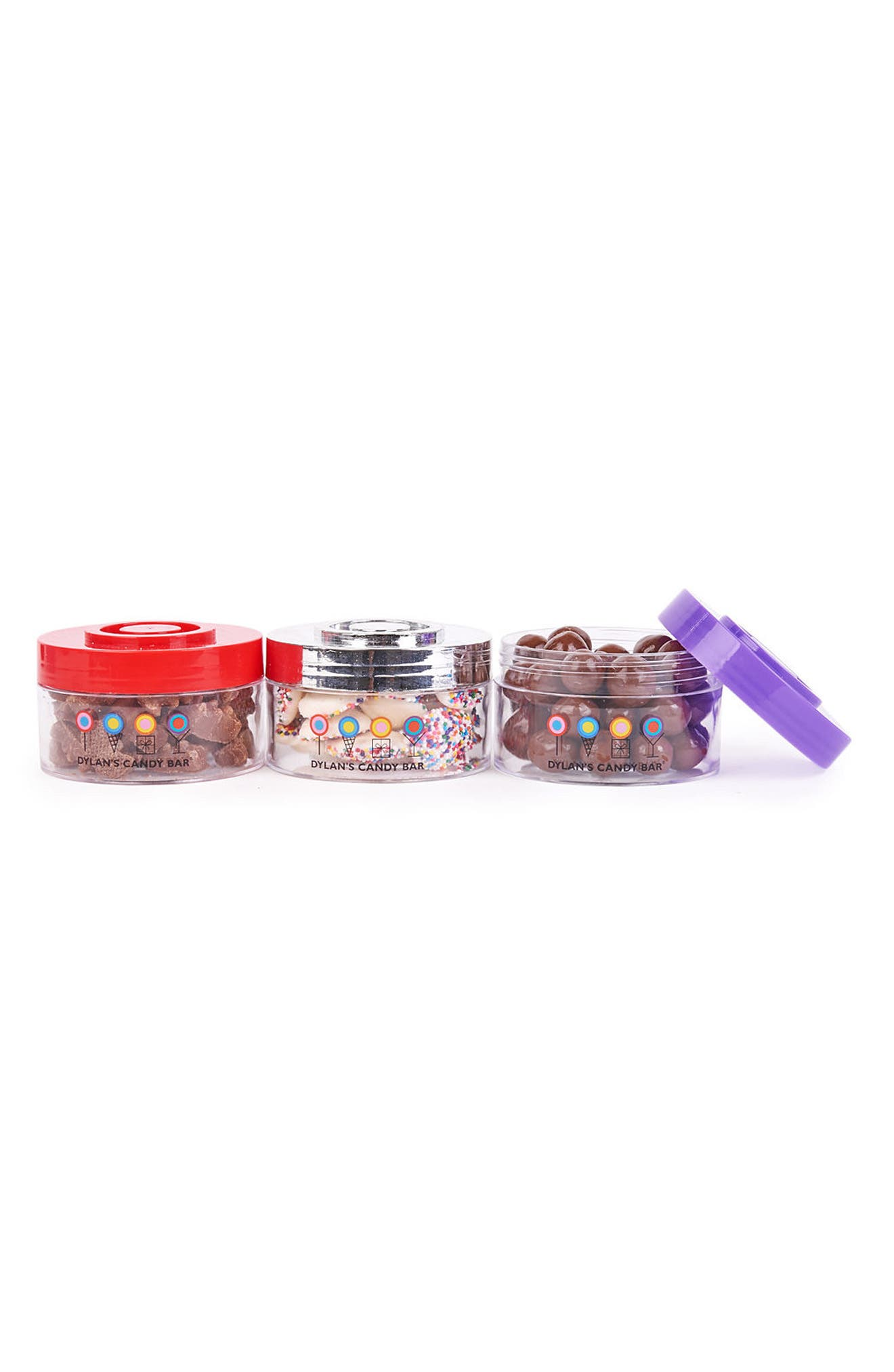 Chocolate Stack-A-Round 3-Pack Signature Gift Set,                             Alternate thumbnail 3, color,                             Blue