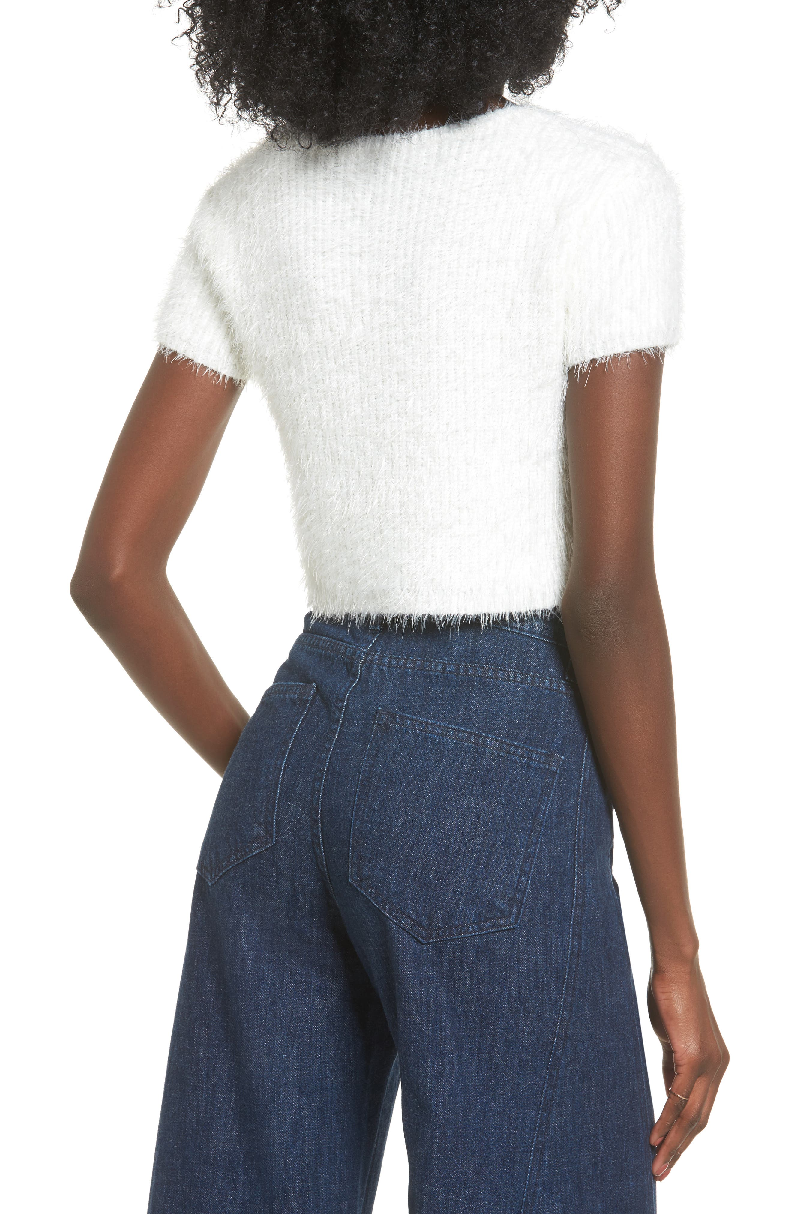 Alternate Image 2  - Majorelle Oracle Crop Sweater