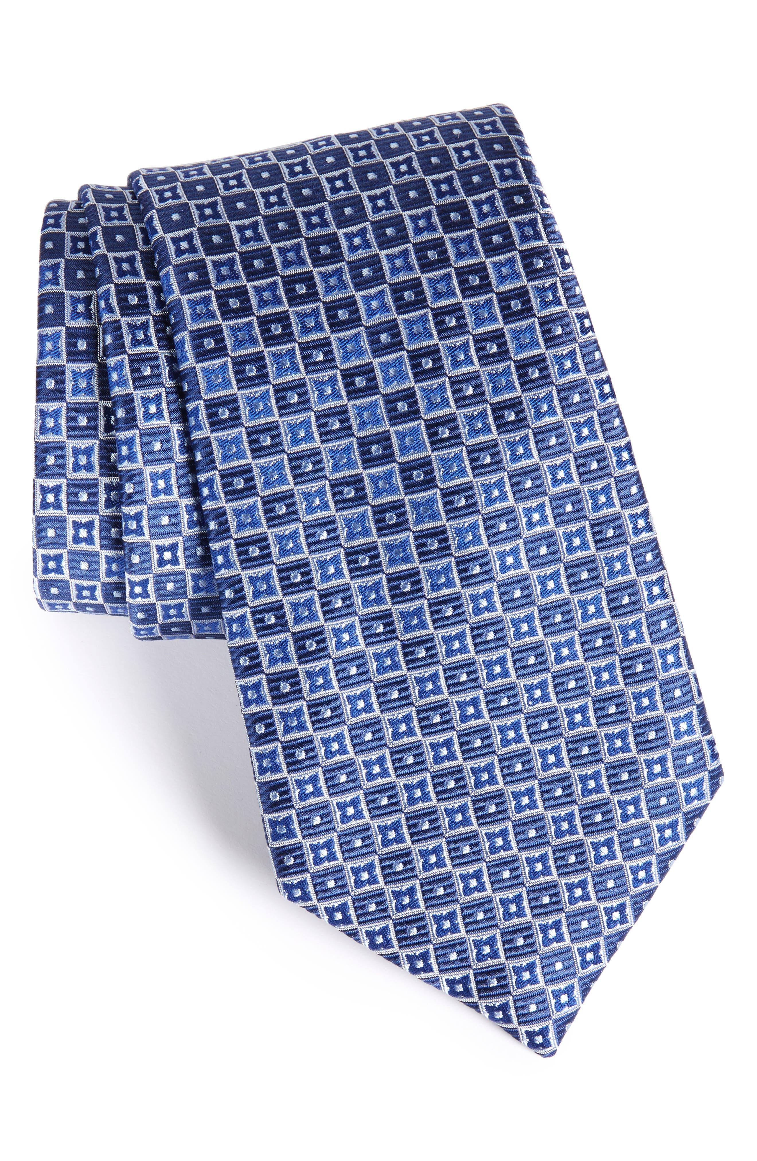 NORDSTROM MENS SHOP Nordstrom Beacon Geometric Silk Tie