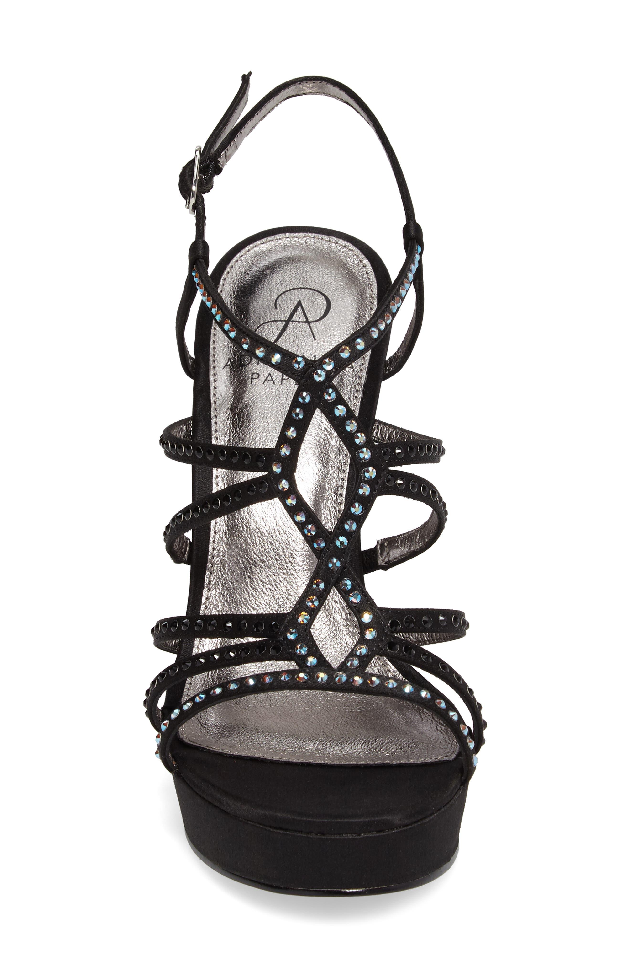 Alternate Image 4  - Adrianna Papell Miranda Embellished Platform Sandal (Women)
