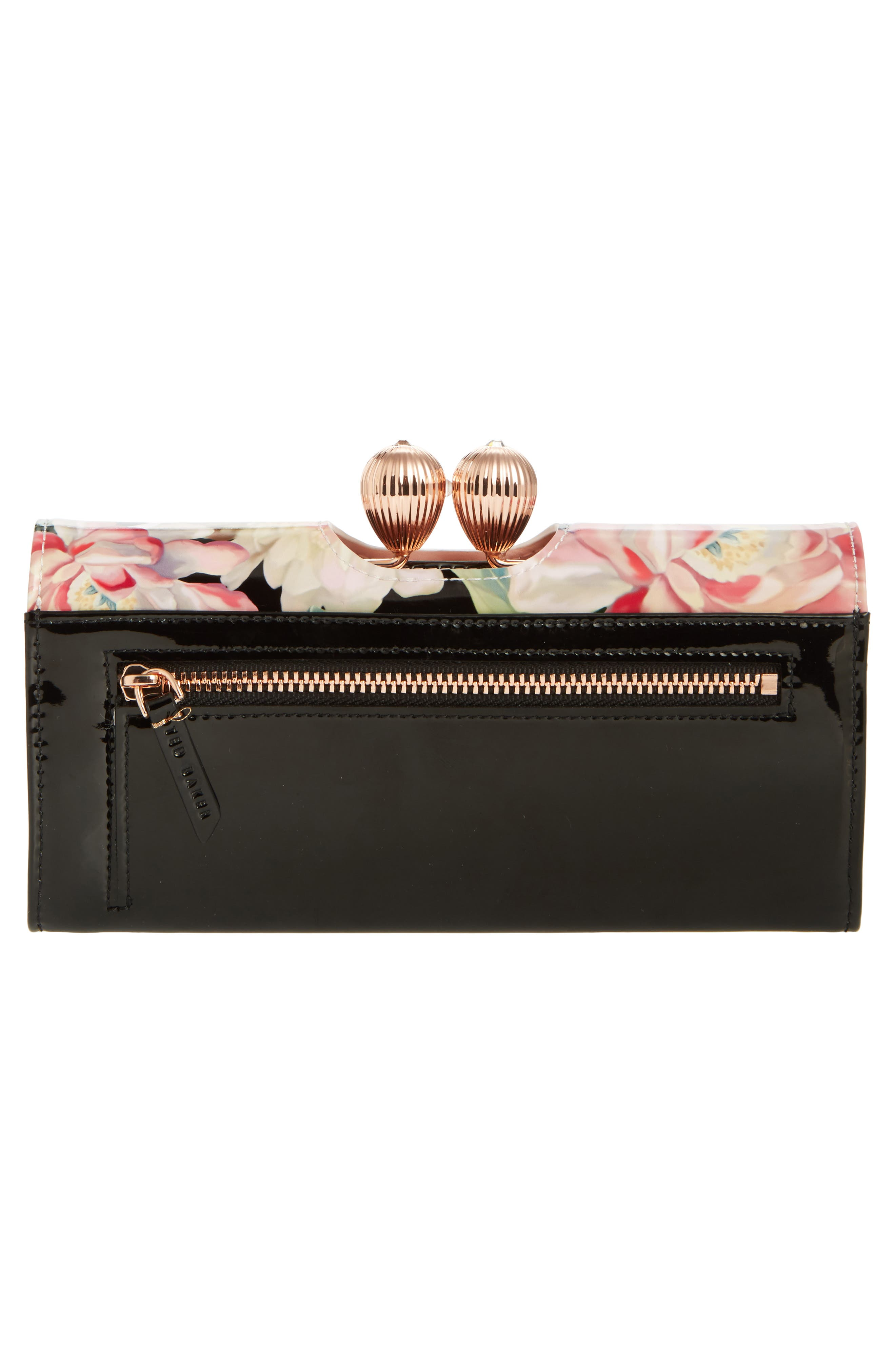 Alternate Image 4  - Ted Baker London Painted Posie Leather Matinée Wallet