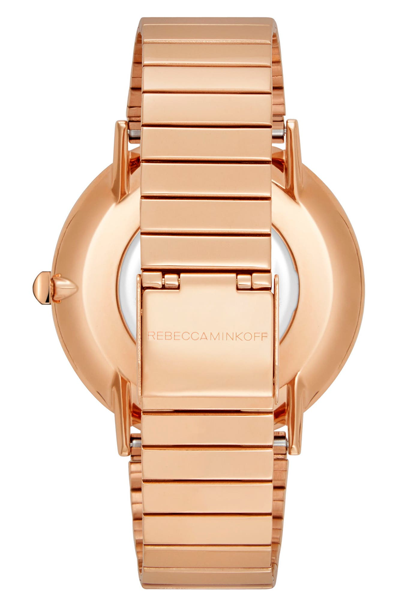 Major Bracelet Watch, 40mm,                             Alternate thumbnail 2, color,                             Rose Gold