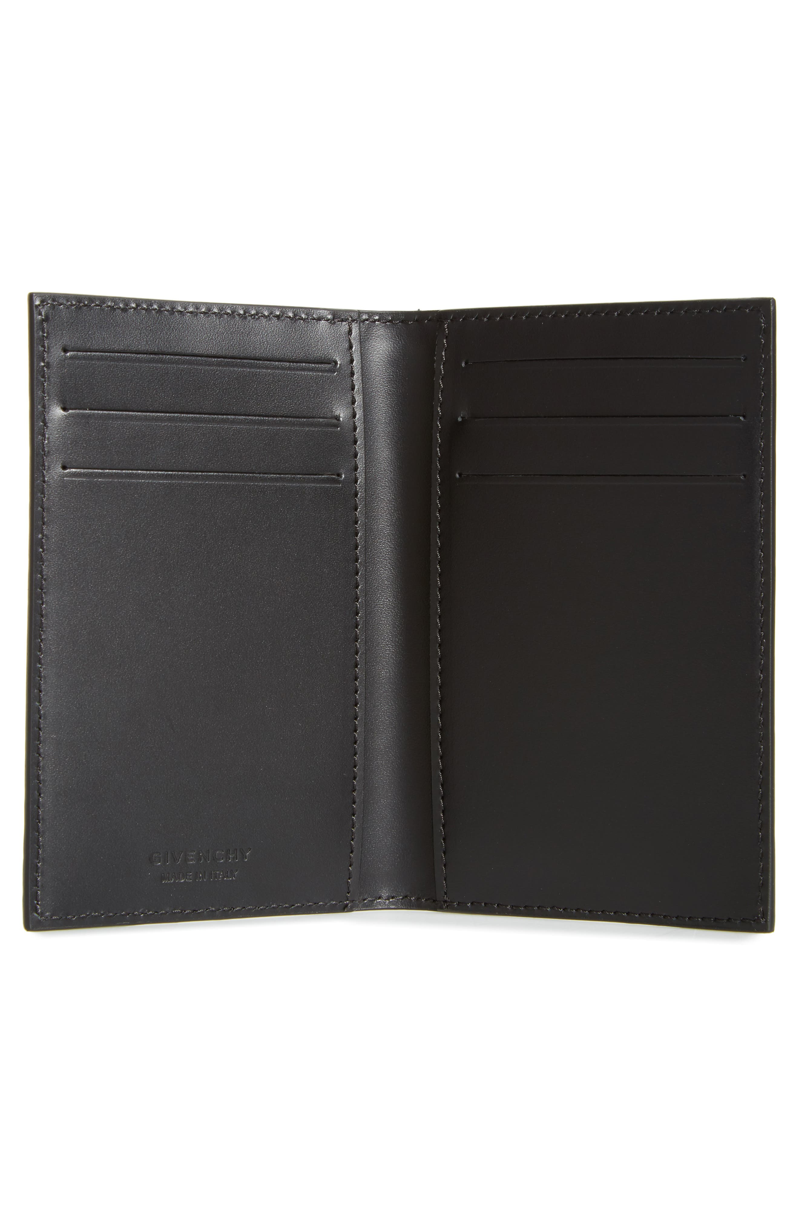 Alternate Image 2  - Givenchy Tall Leather Billfold Wallet