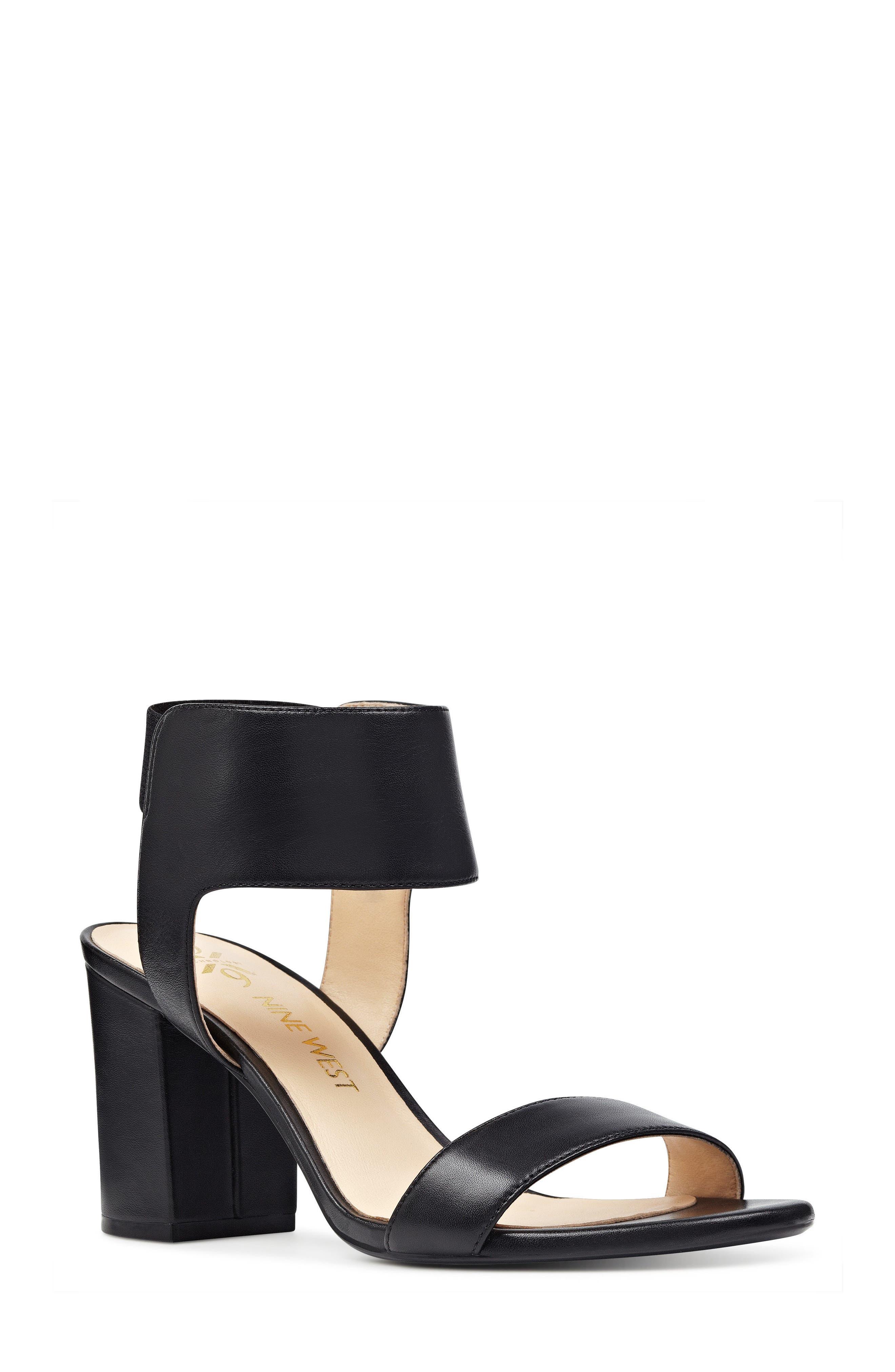Nine West Greene Ankle Cuff Sandal (Women)