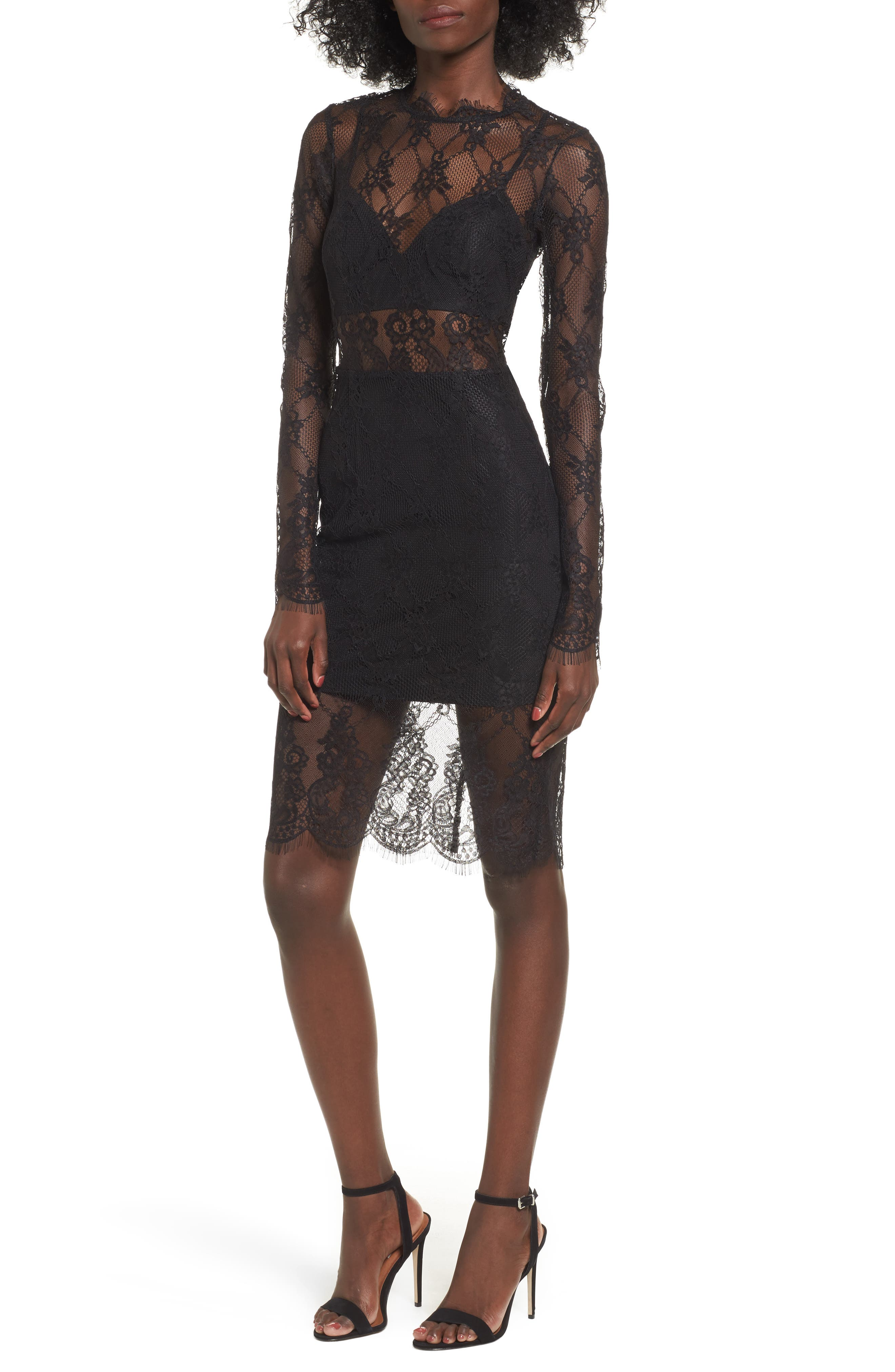 NBD Carrie Lace Body-Con Dress