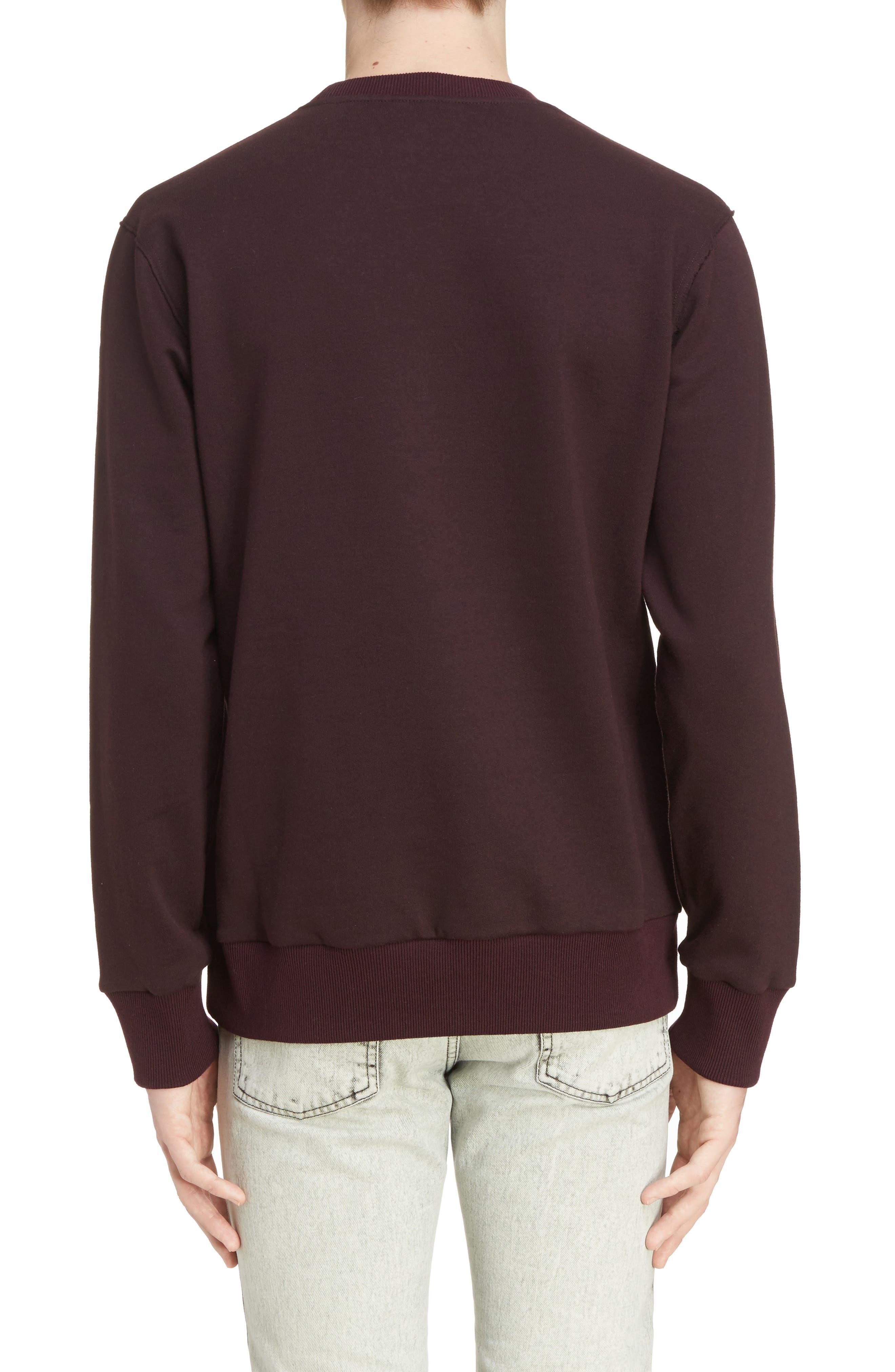 Alternate Image 2  - Lanvin Utopia Graphic Crewneck Sweatshirt