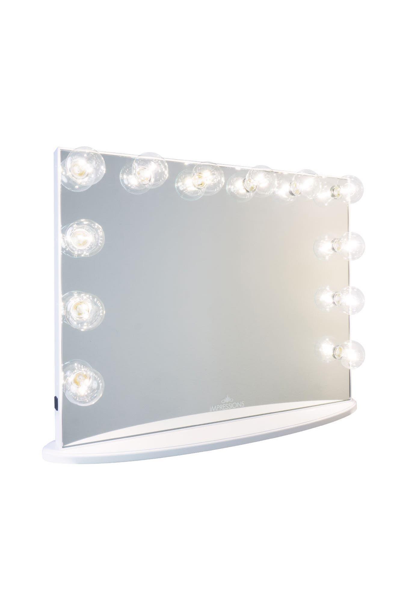 Alternate Image 1 Selected - Impressions Vanity Co. Hollywood Glow™ Plus Vanity Mirror
