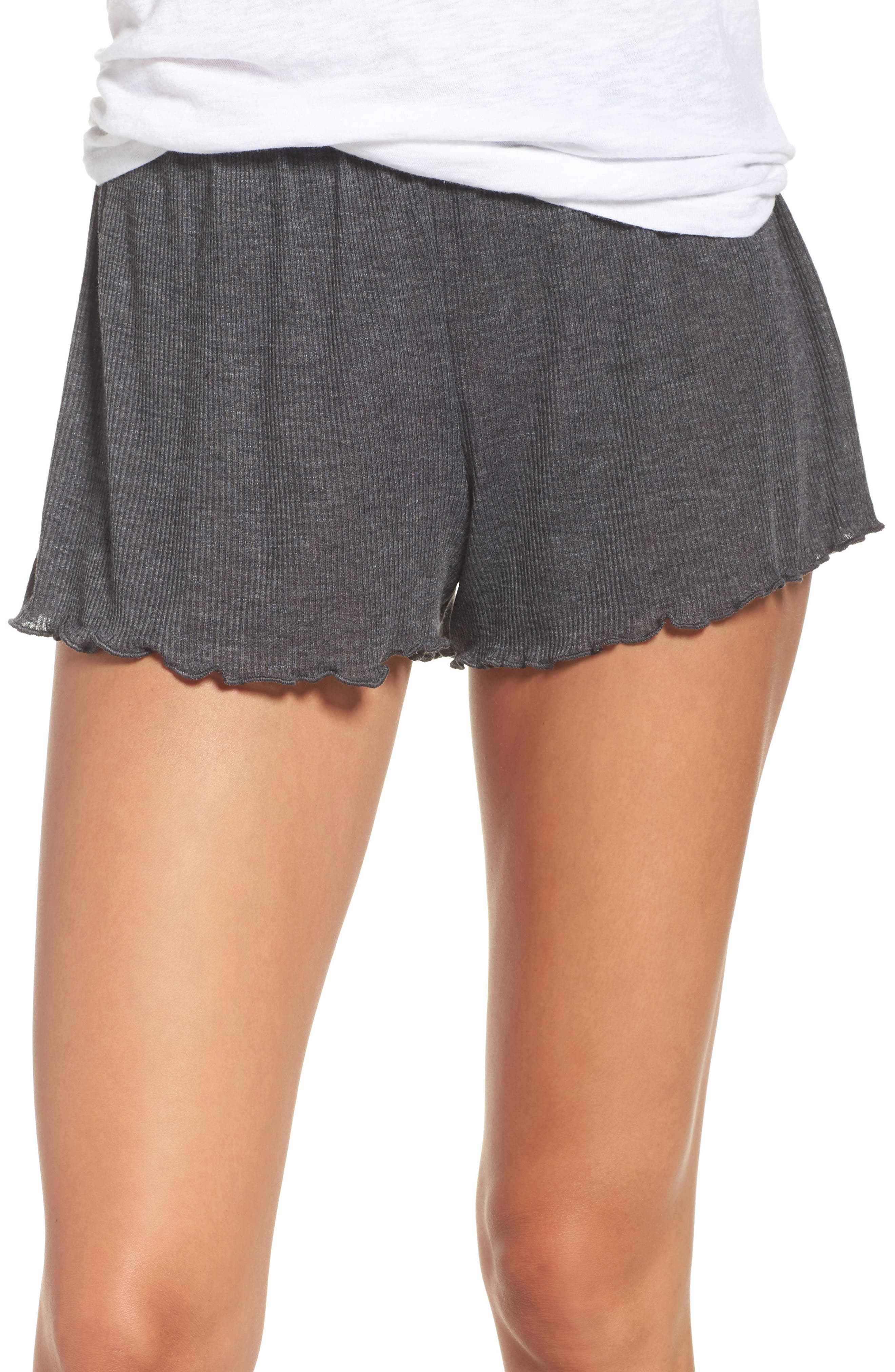 Lounge Shorts,                         Main,                         color, Grey Wolf Heather