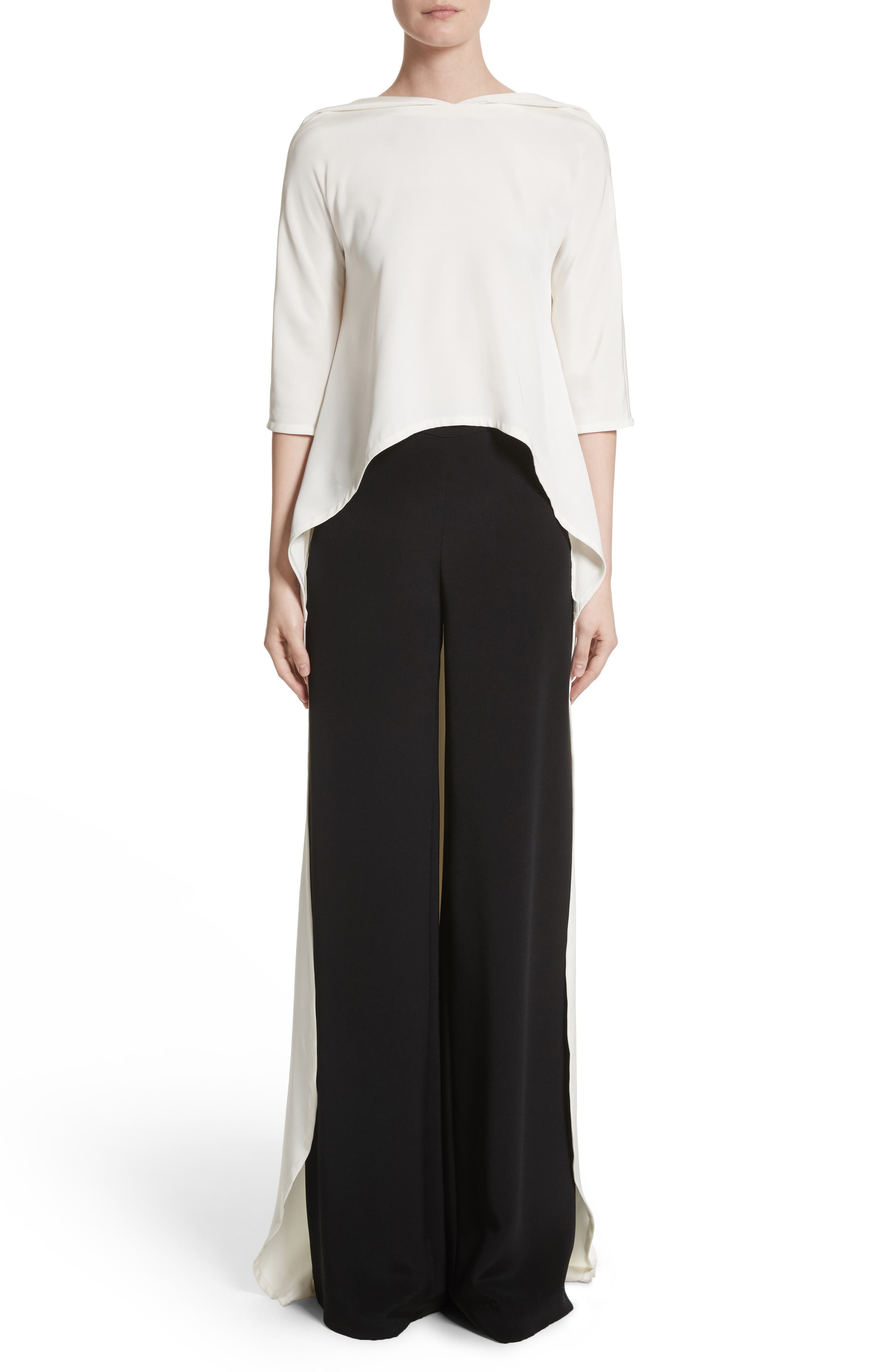 Alternate Image 1 Selected - Carolina Herrera Cape Top