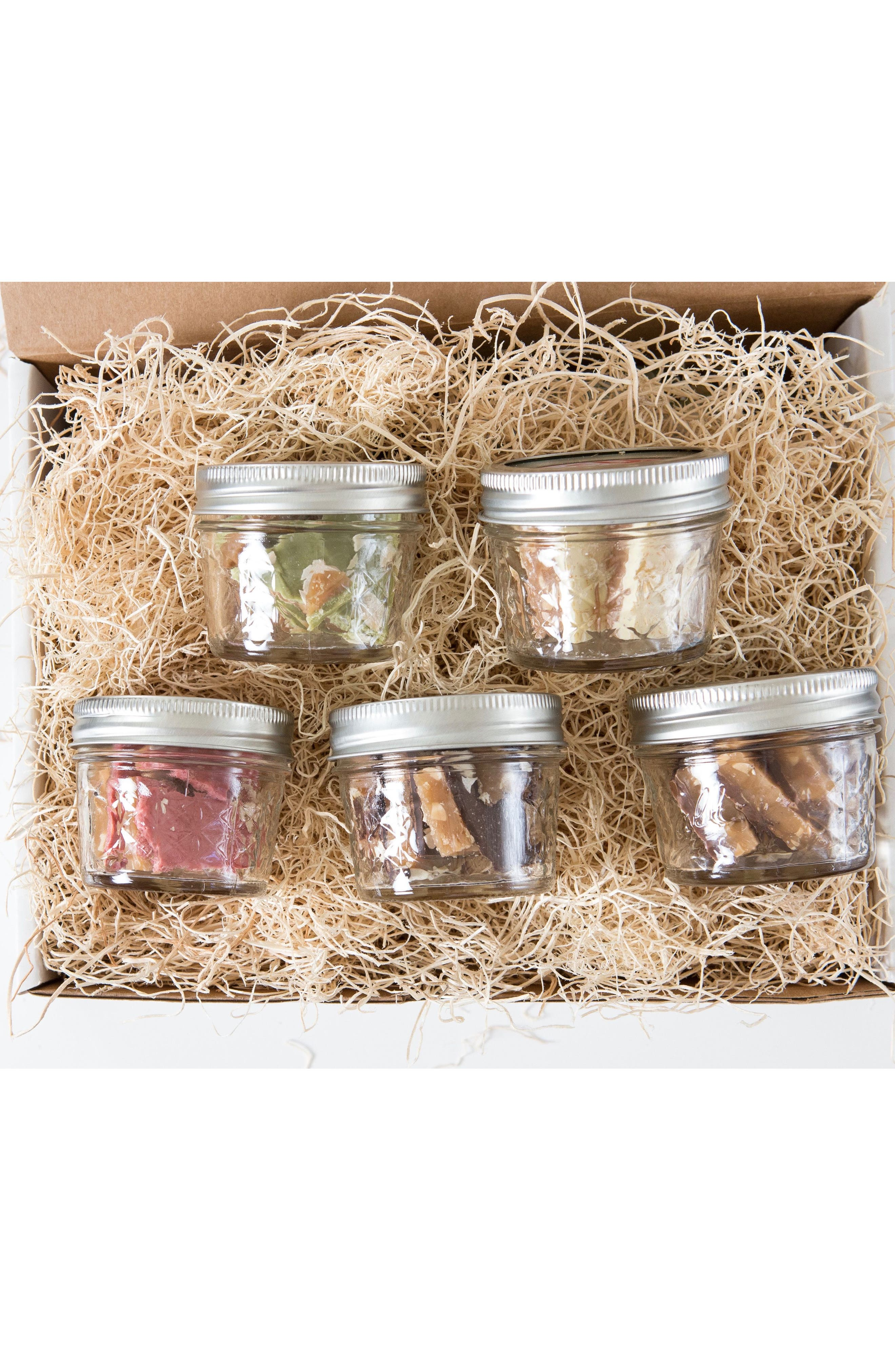 Take a Flight to Toffee Land 5-Pack Toffee Gift Set,                             Alternate thumbnail 6, color,                             Natural Multi