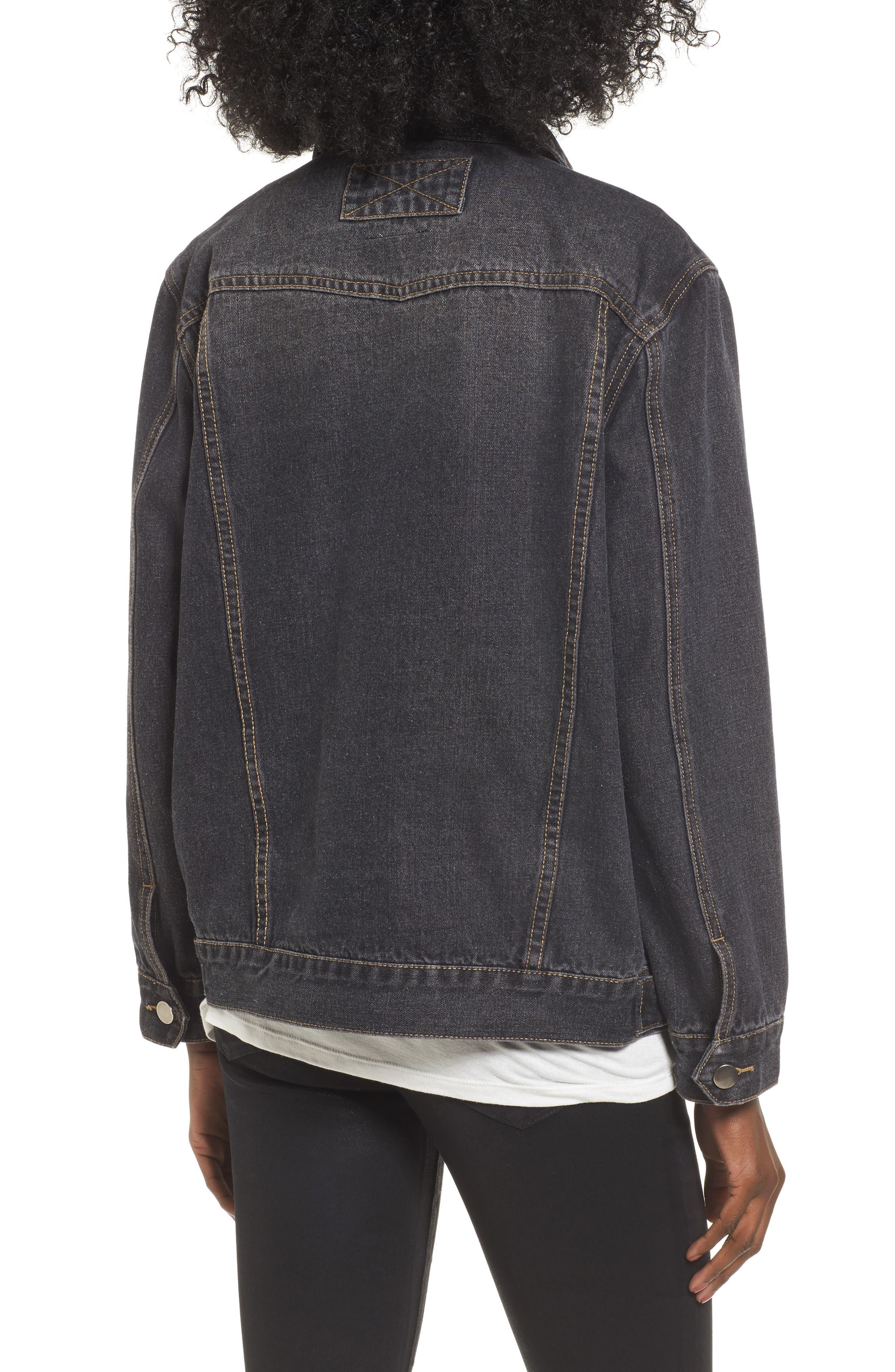 Alternate Image 3  - Lira Clothing Girl Gang Denim Jacket