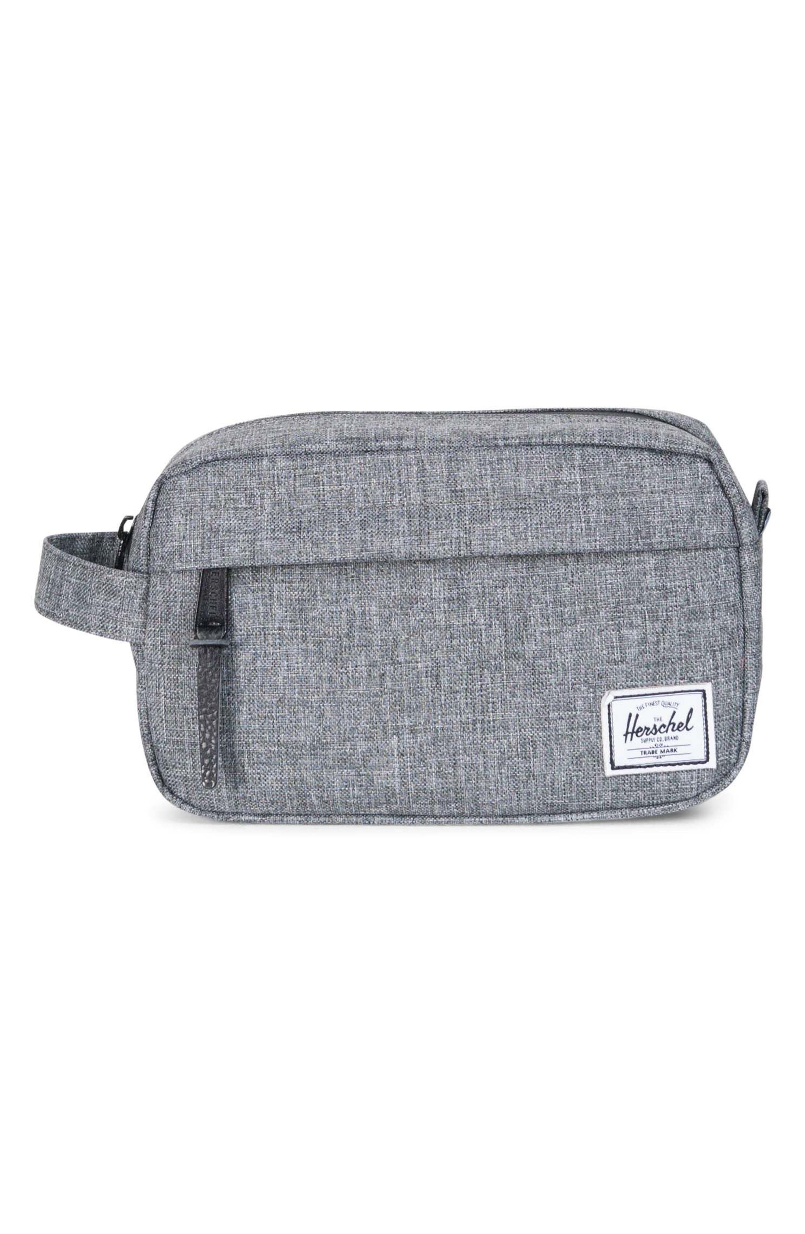 Chapter Carry-On Travel Kit,                             Main thumbnail 1, color,                             Raven Crosshatch