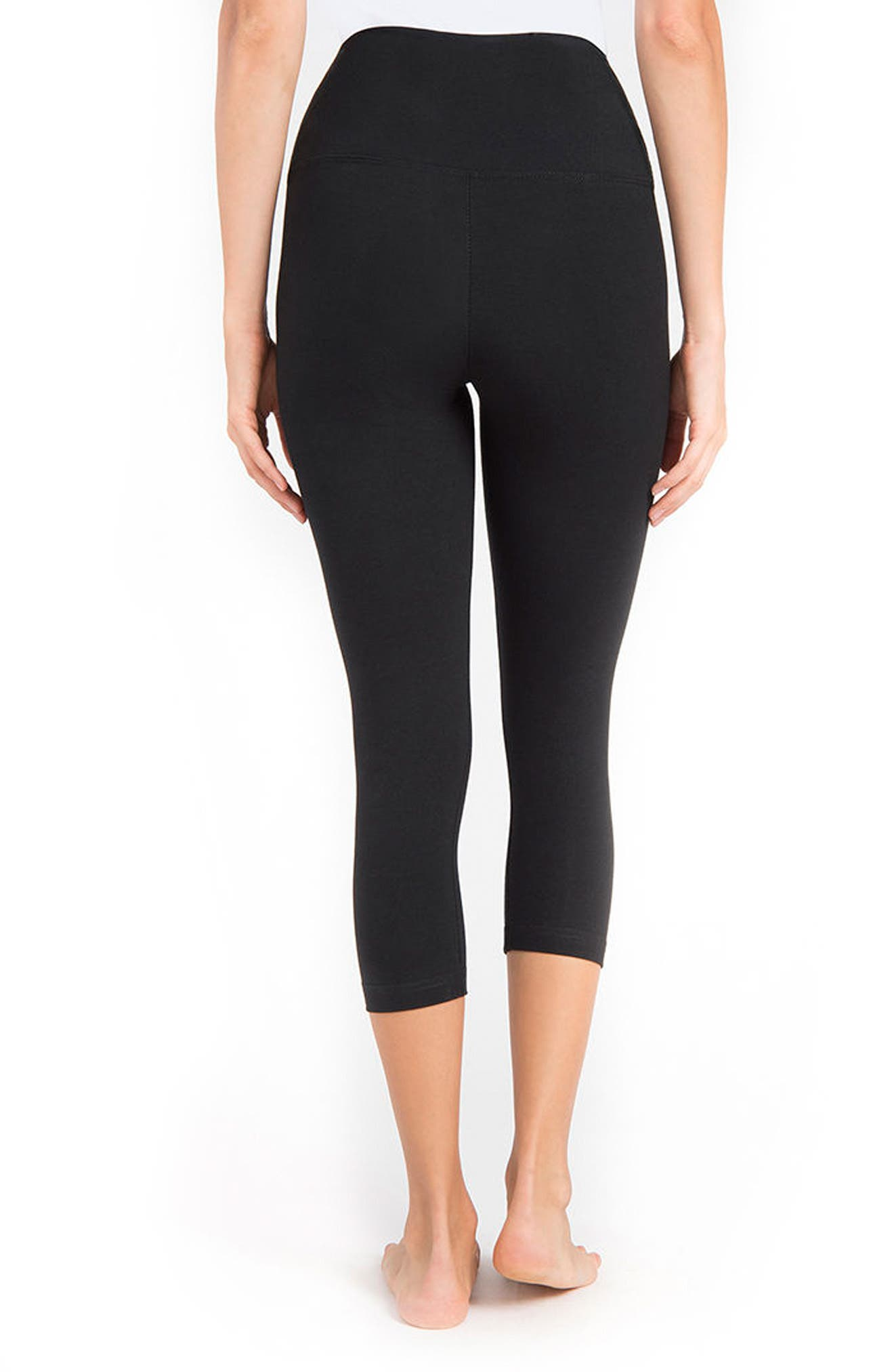 Alternate Image 2  - Lyssé Control Top High Waist Capris