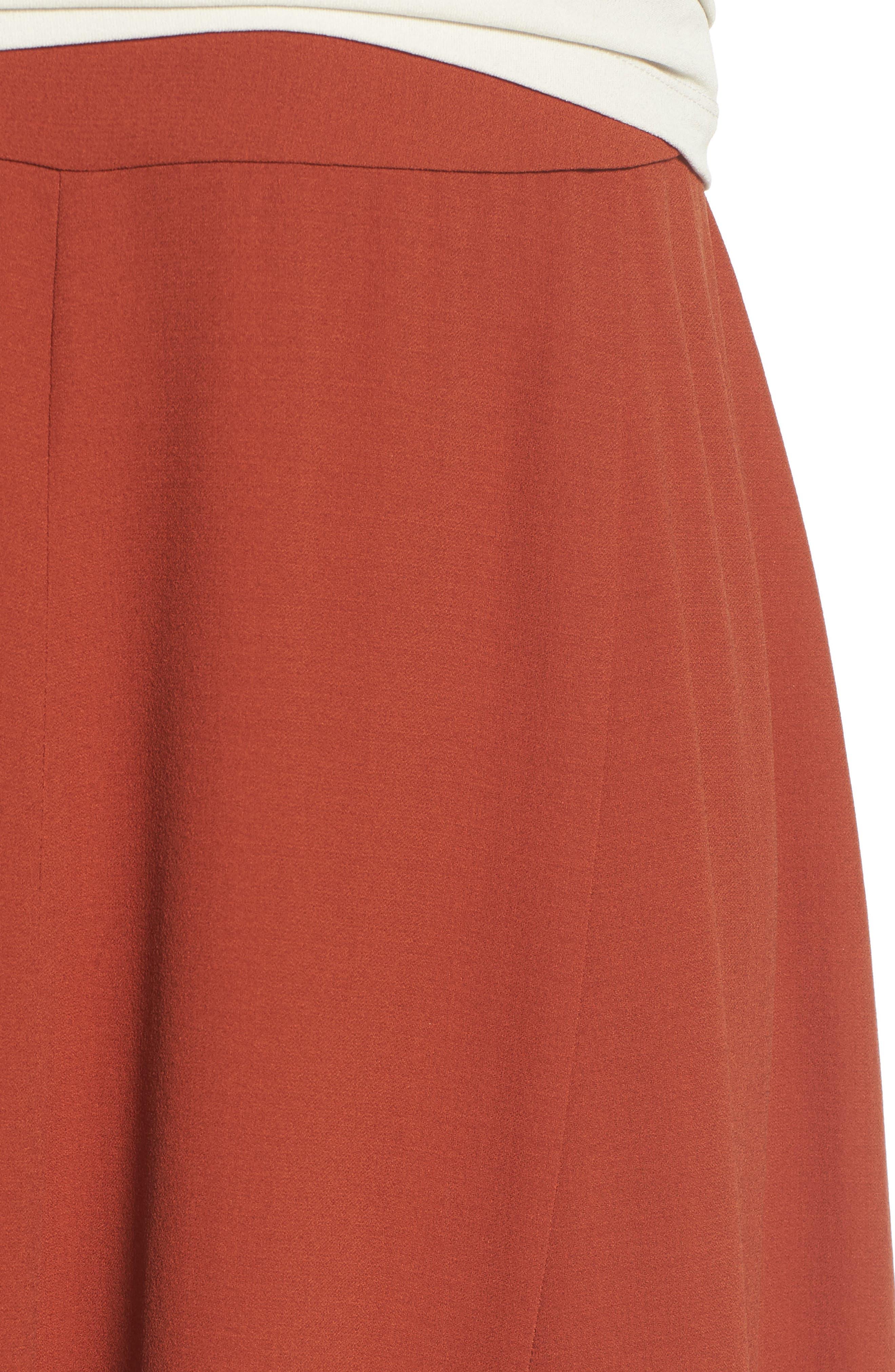 Alternate Image 4  - Eileen Fisher Gored Silk Skirt