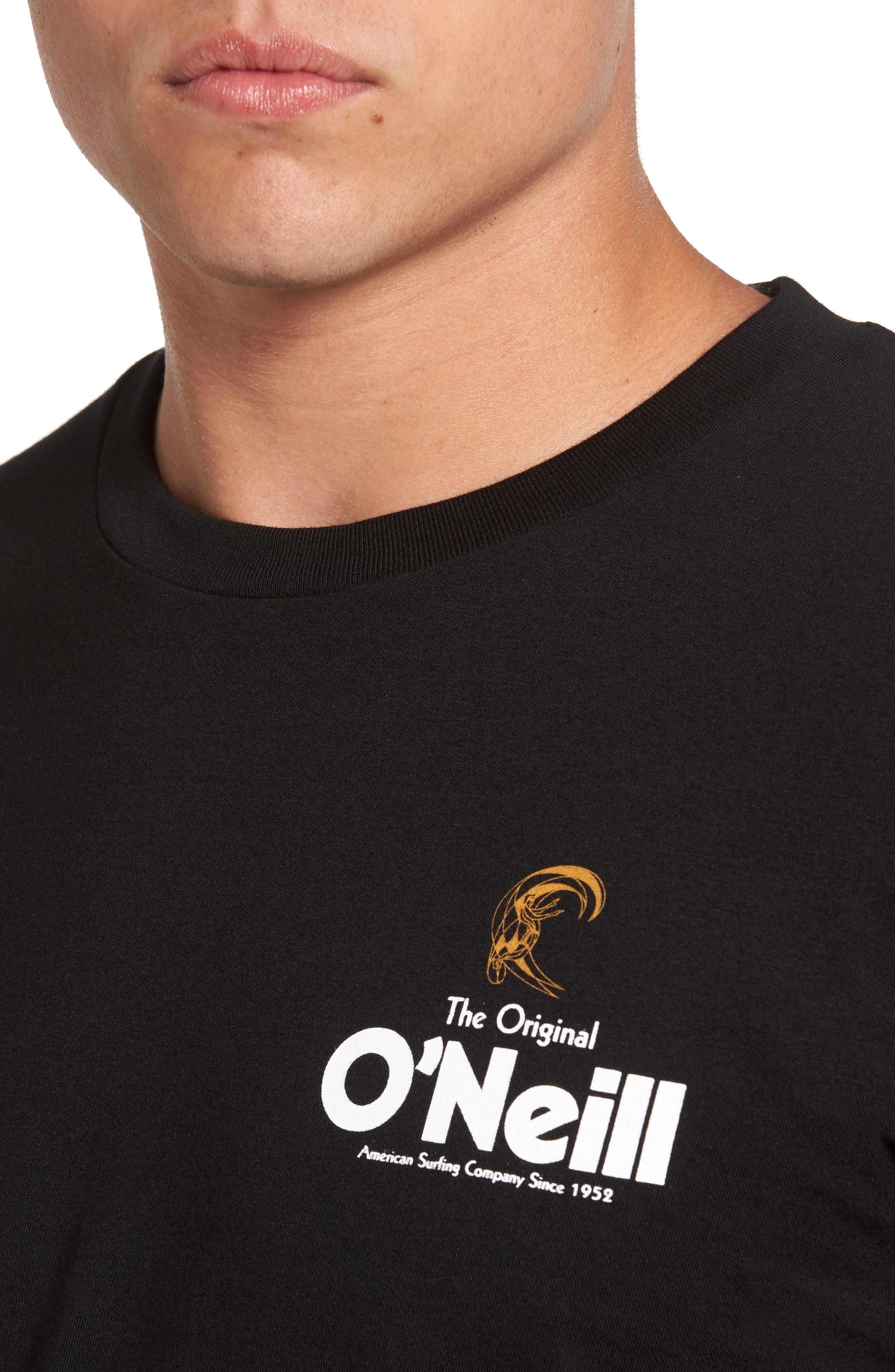Alternate Image 4  - O'Neill Stickup Graphic T-Shirt