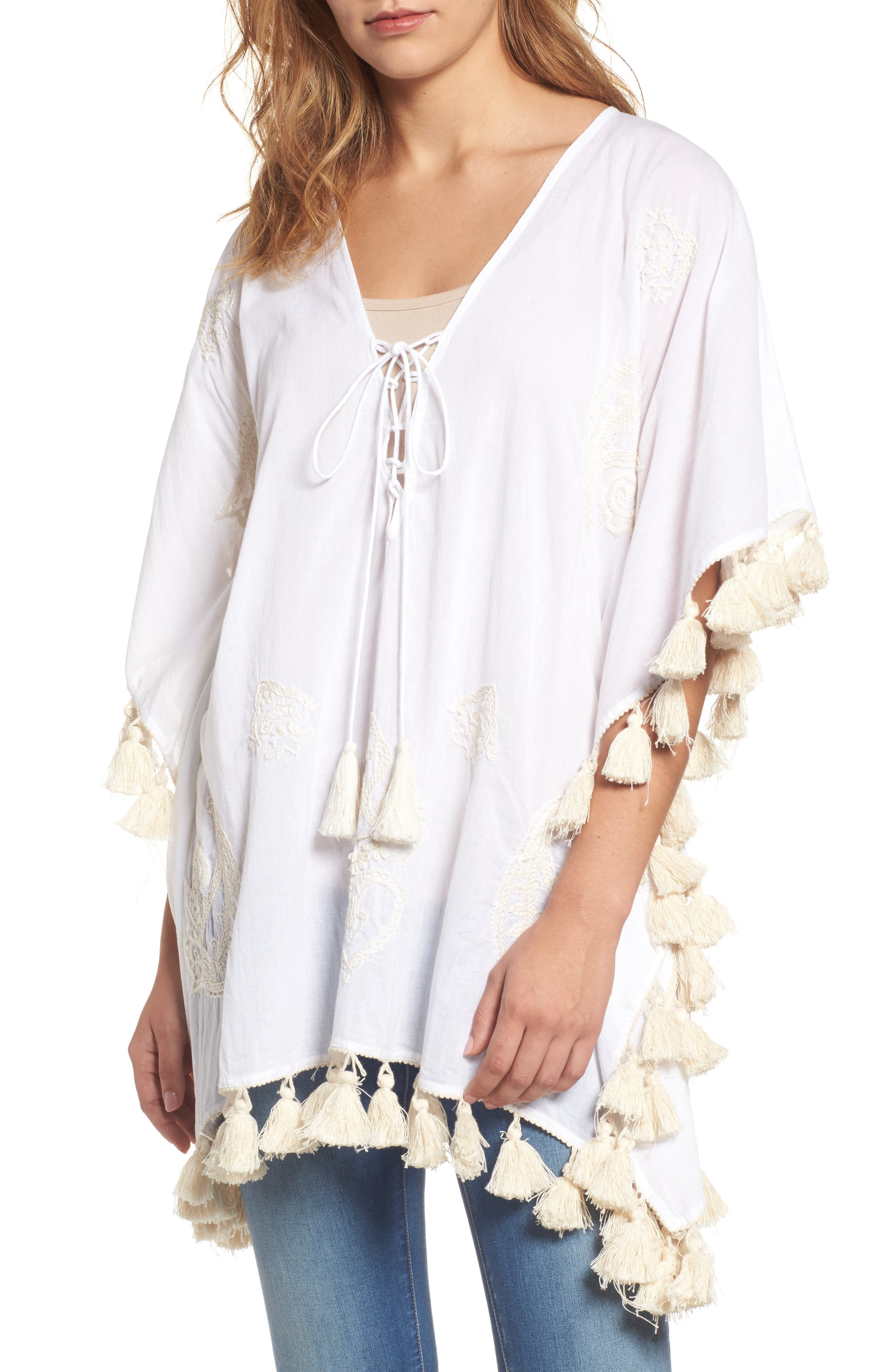 Sole Society Lace-Up Caftan