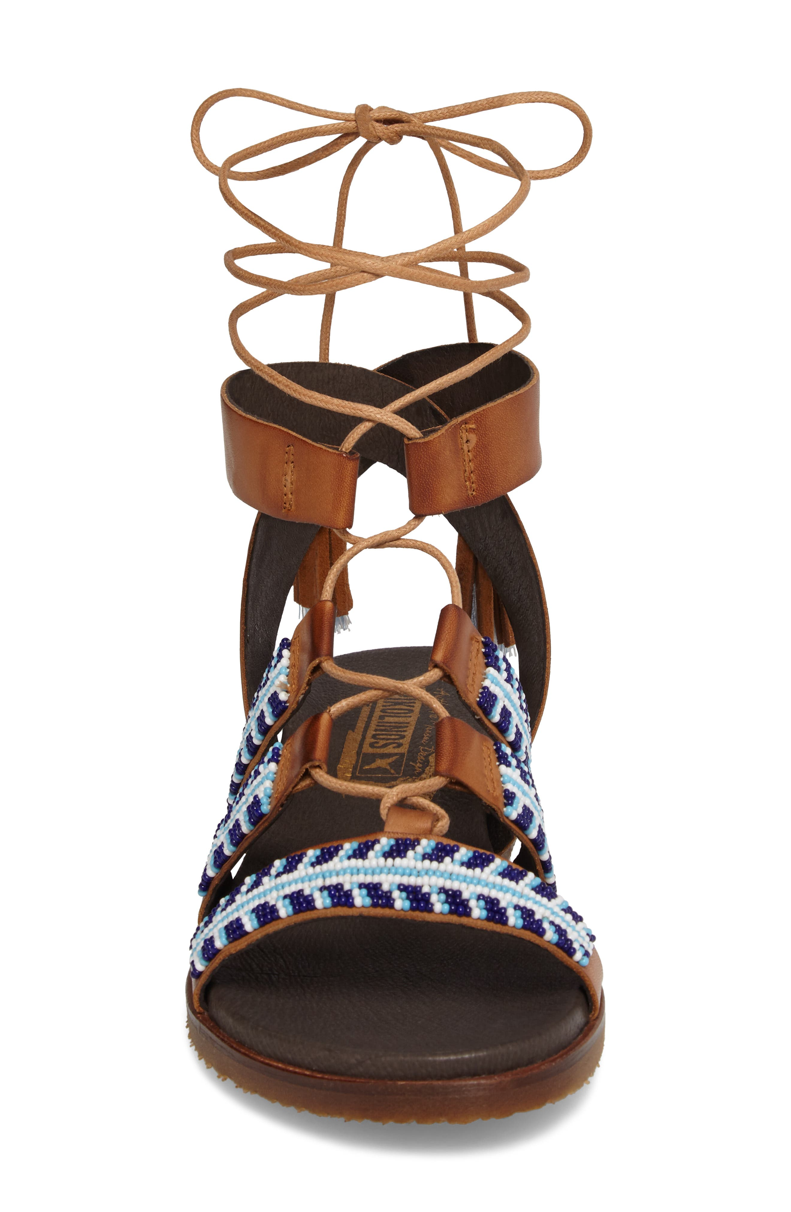 Alternate Image 4  - PIKOLINOS Antillas Beaded Ghillie Sandal (Women)