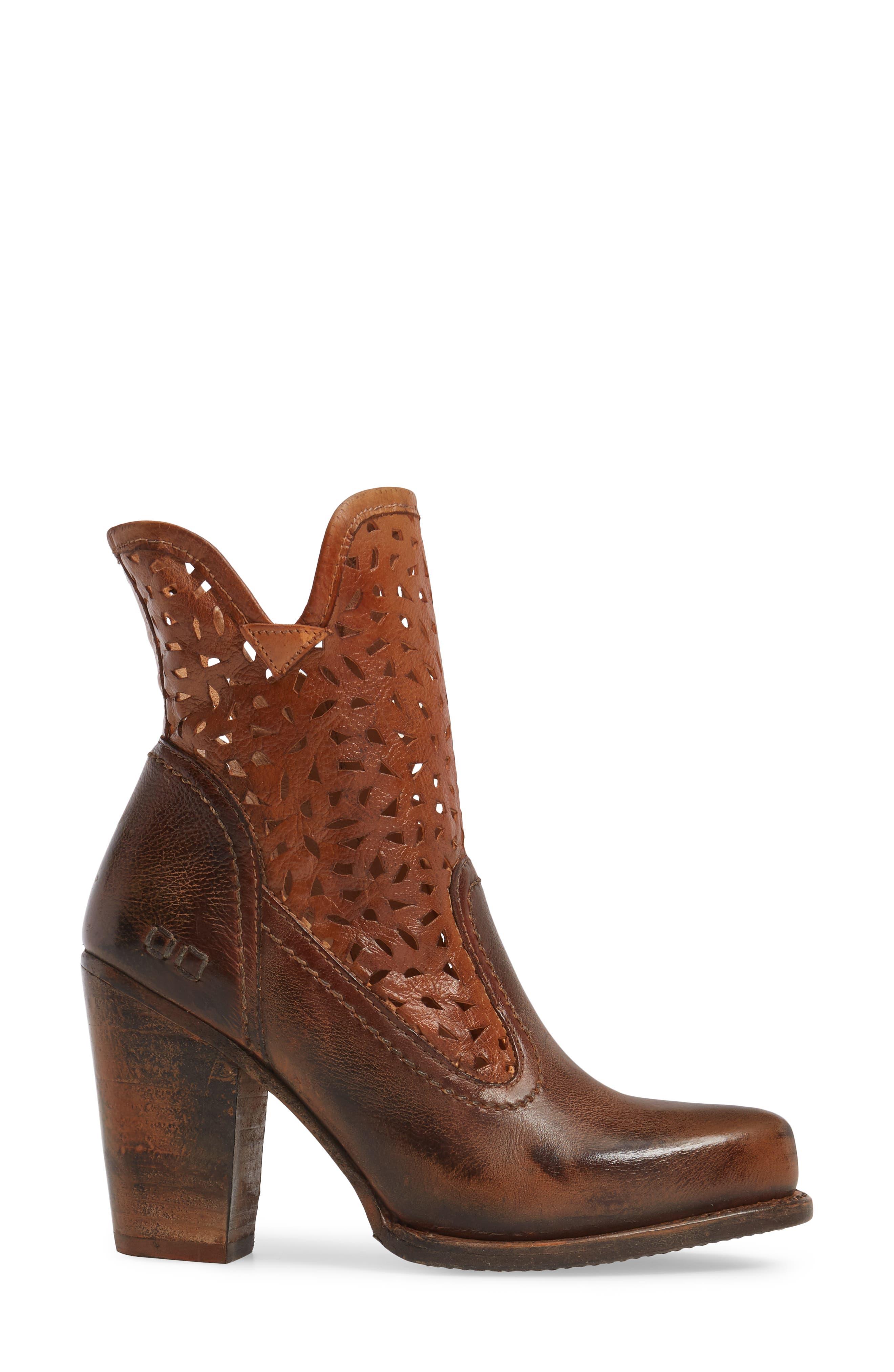 Alternate Image 3  - Bed Stu Irma Perforated Boot (Women)