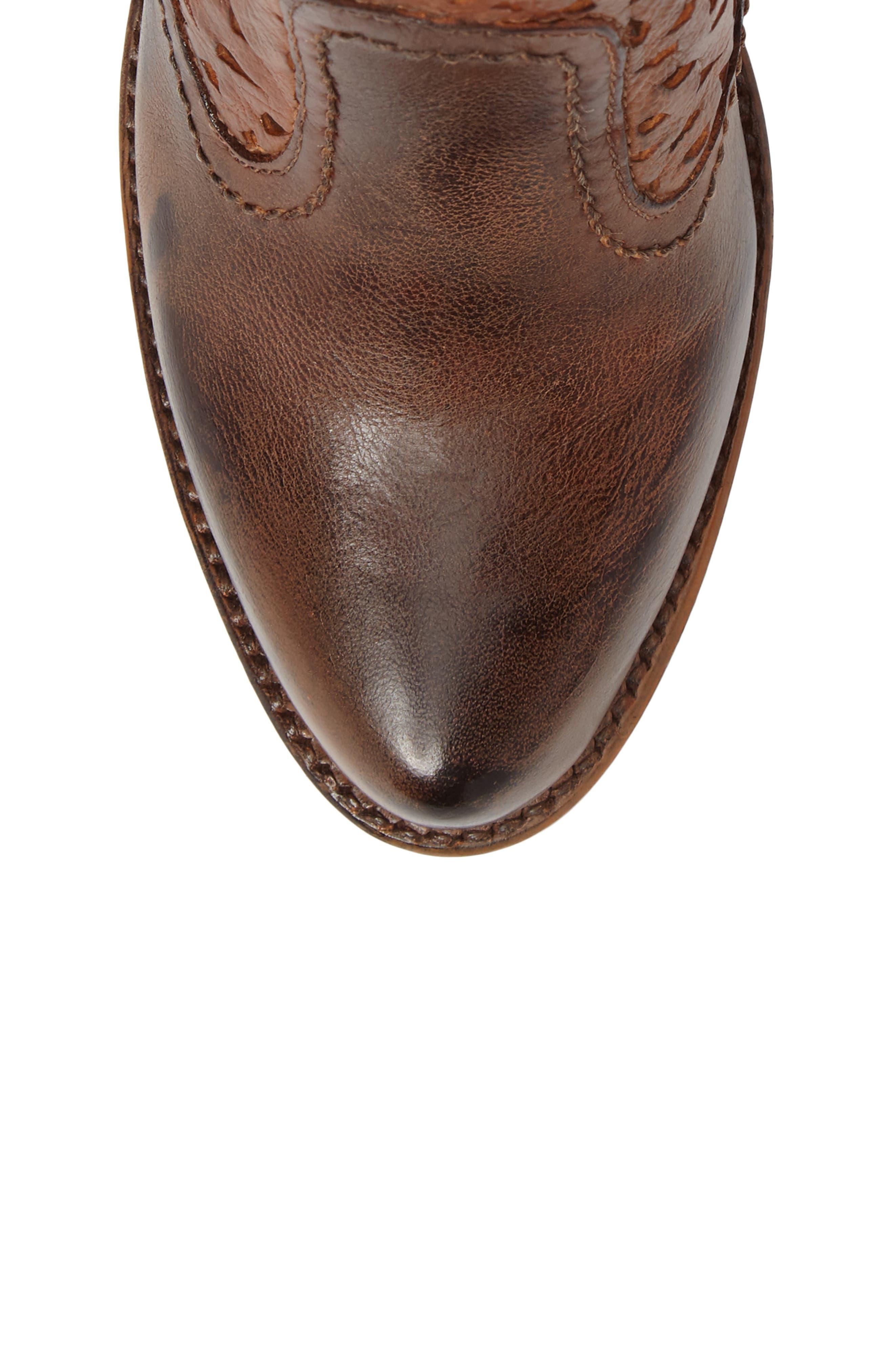 Alternate Image 5  - Bed Stu Irma Perforated Boot (Women)