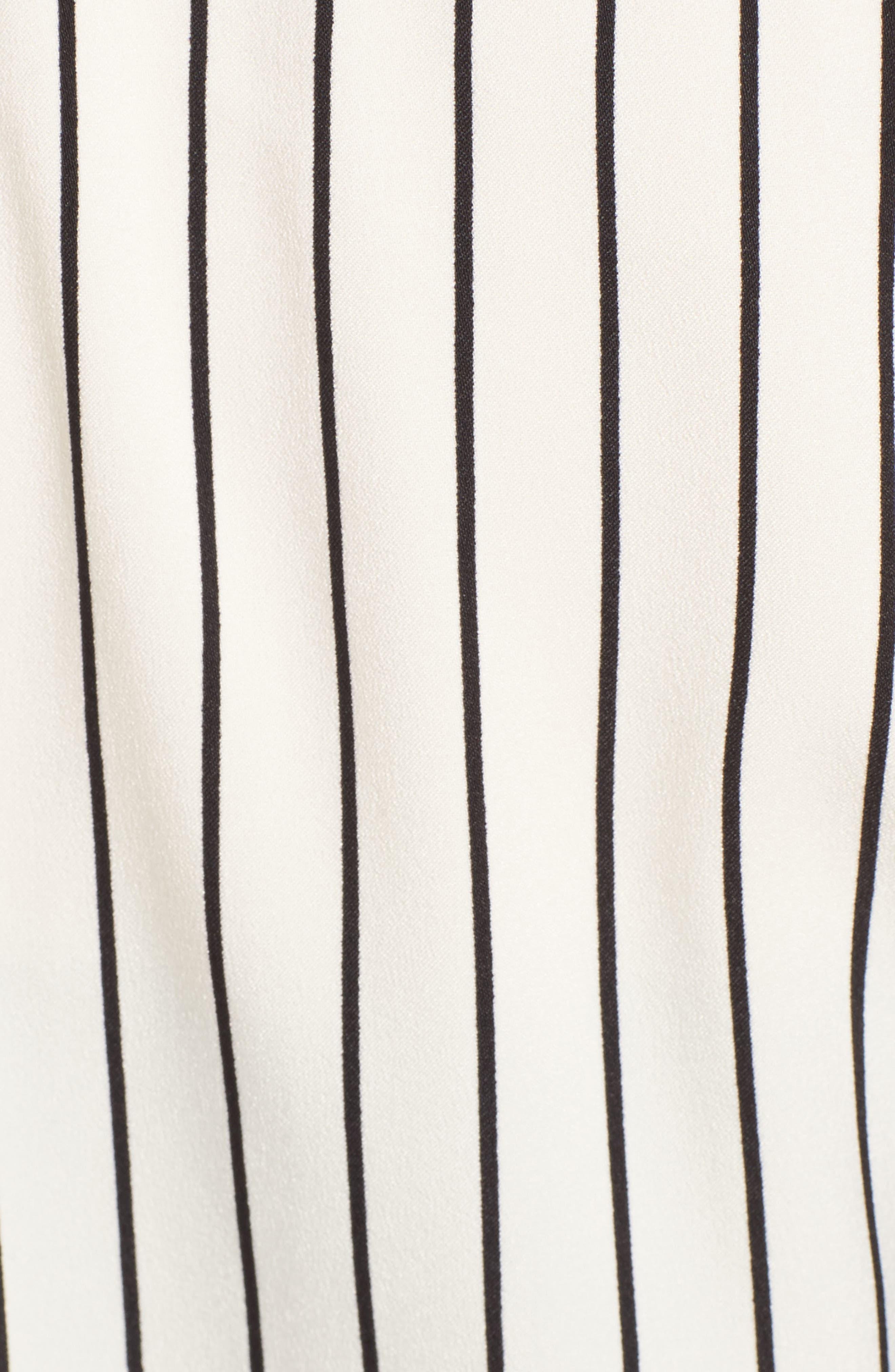 Alternate Image 5  - Trouvé Stripe Longline Jacket