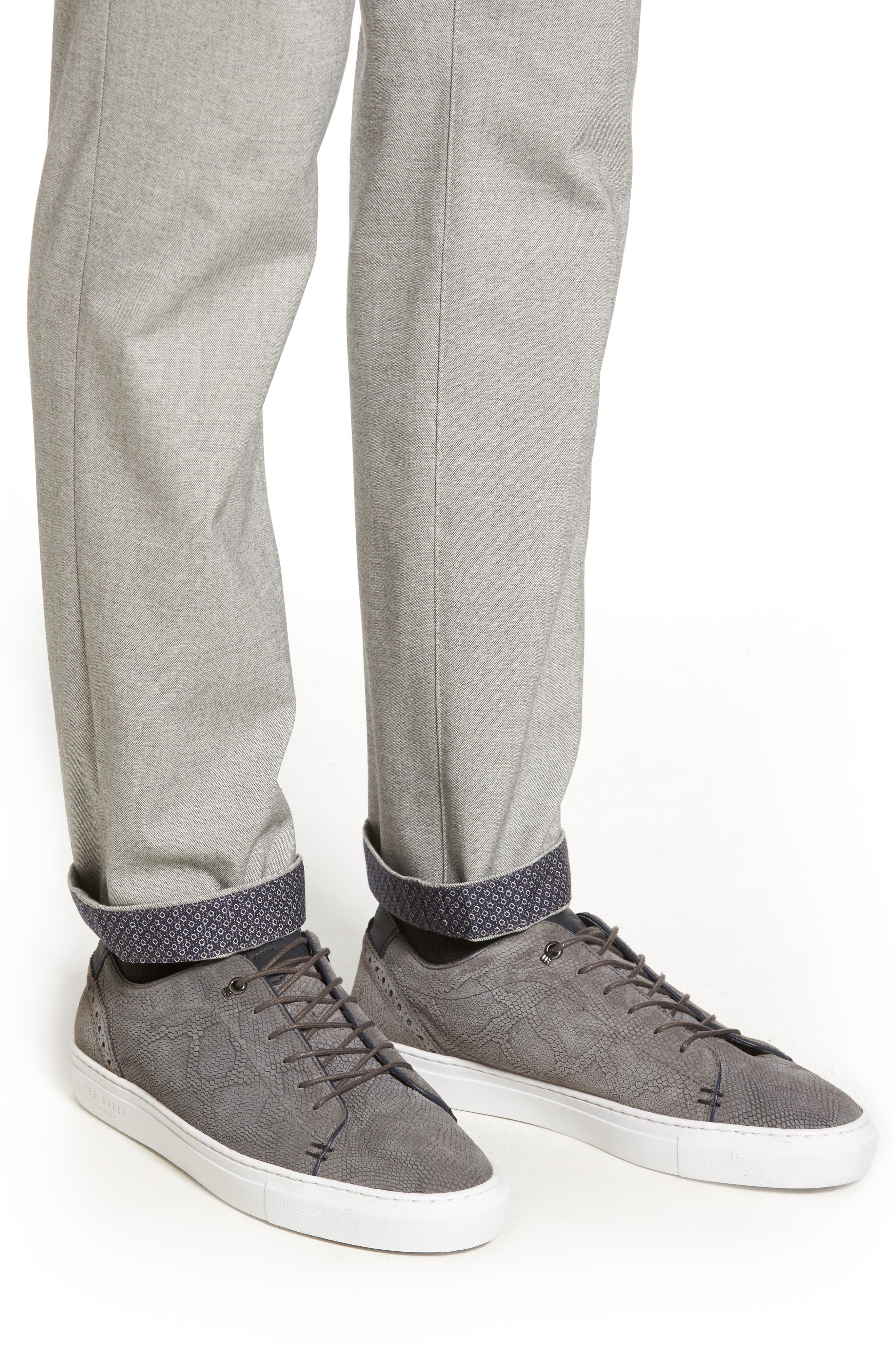 Alternate Image 4  - Ted Baker London Volvek Classic Fit Trousers