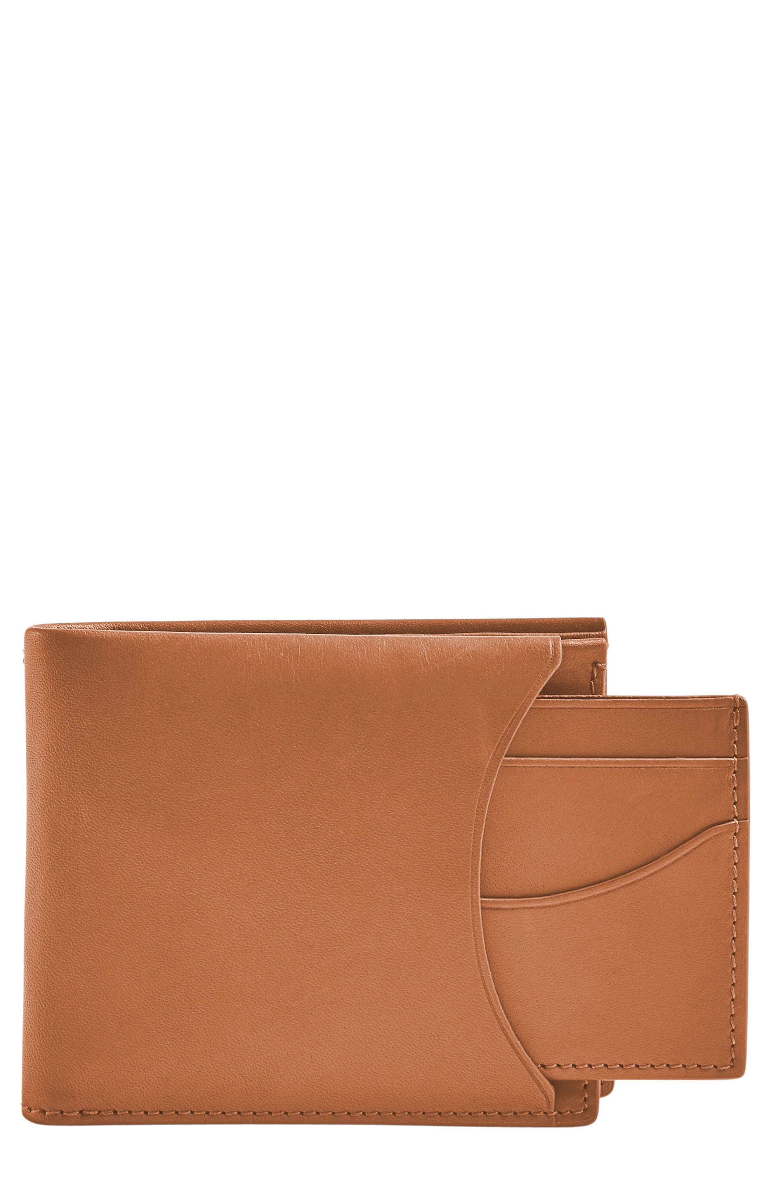 SKAGEN Leather Passcase Wallet