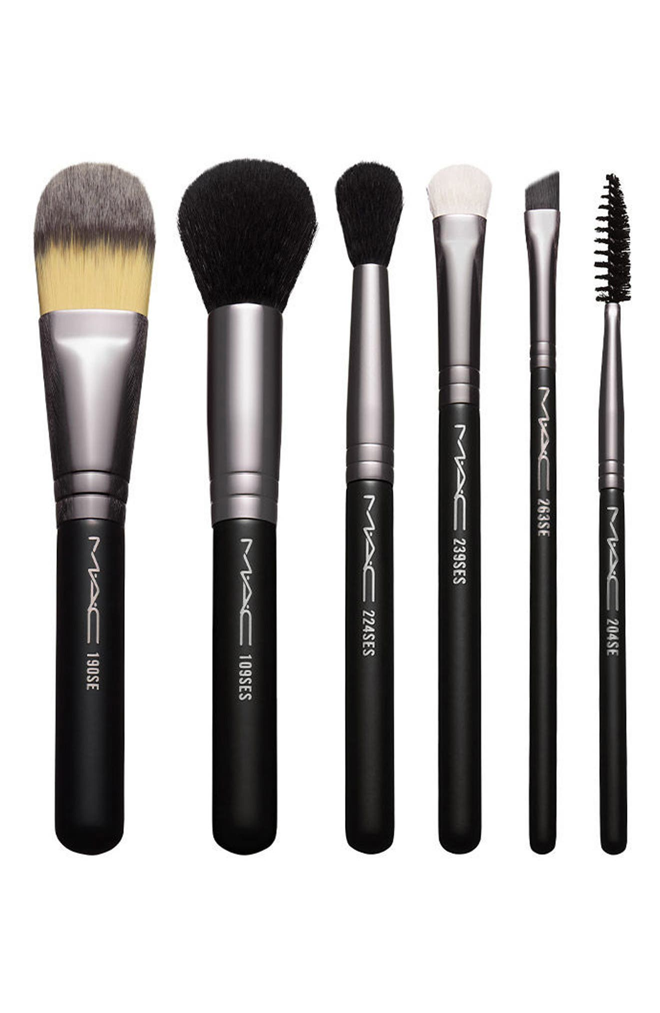 Alternate Image 1 Selected - MAC Look in a Box Basic Travel Brush Kit (Nordstrom Exclusive) ($162 Value)