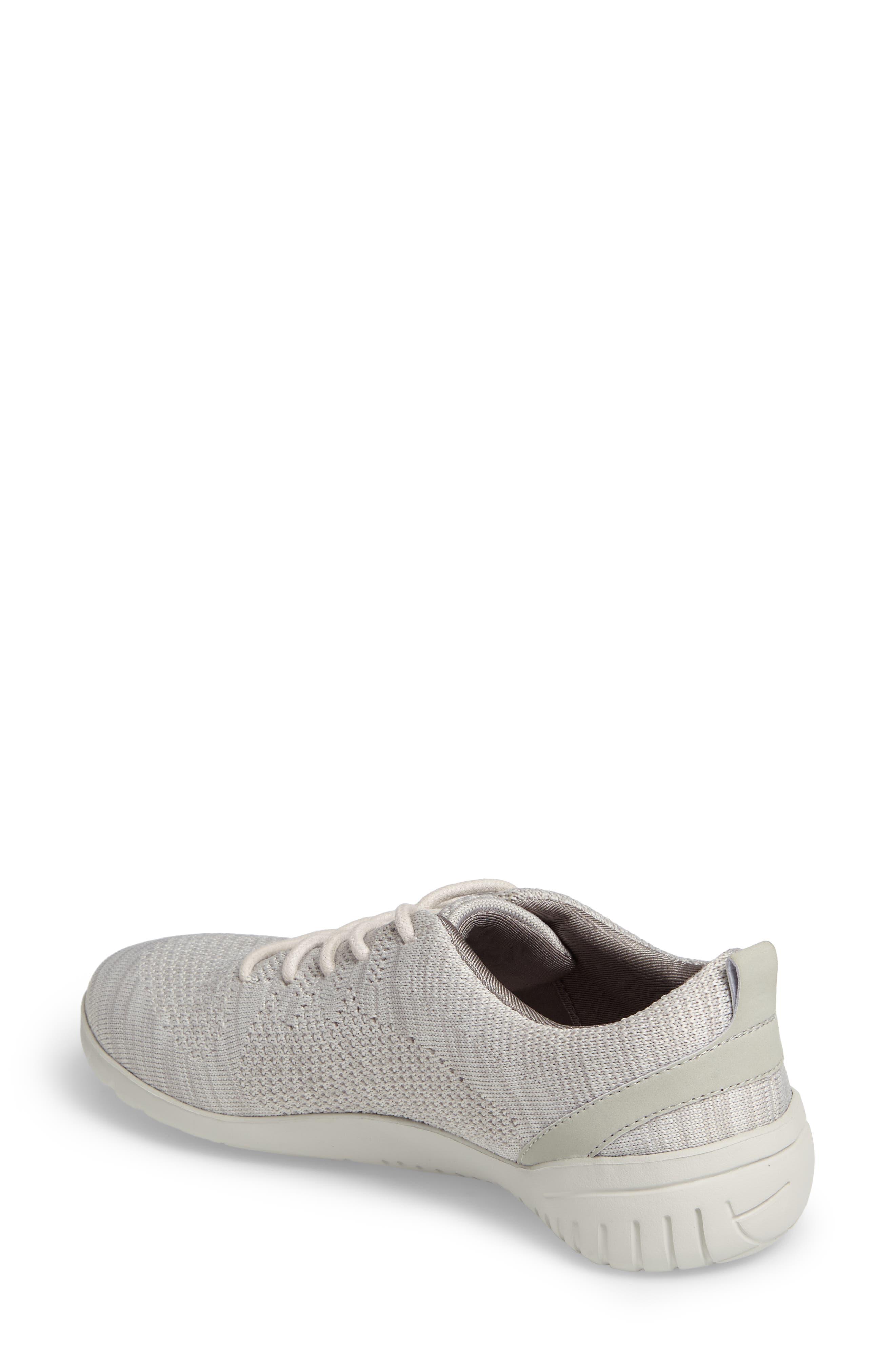 Raelyn Knit Sneaker,                             Alternate thumbnail 2, color,                             Cloud Fabric