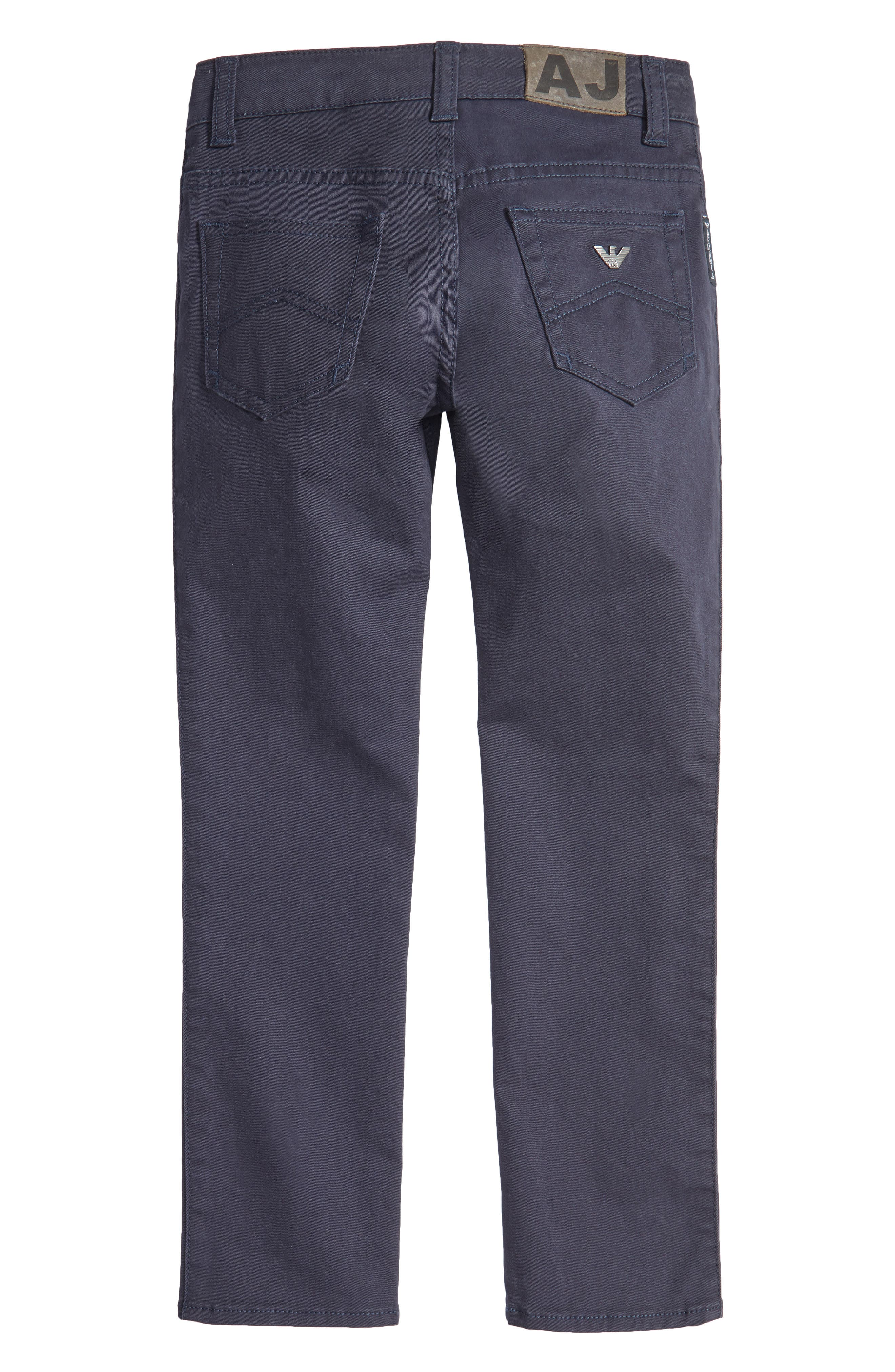 Alternate Image 2  - Armani Junior Stretch Cotton Chino Pants (Little Boys & Big Boys)