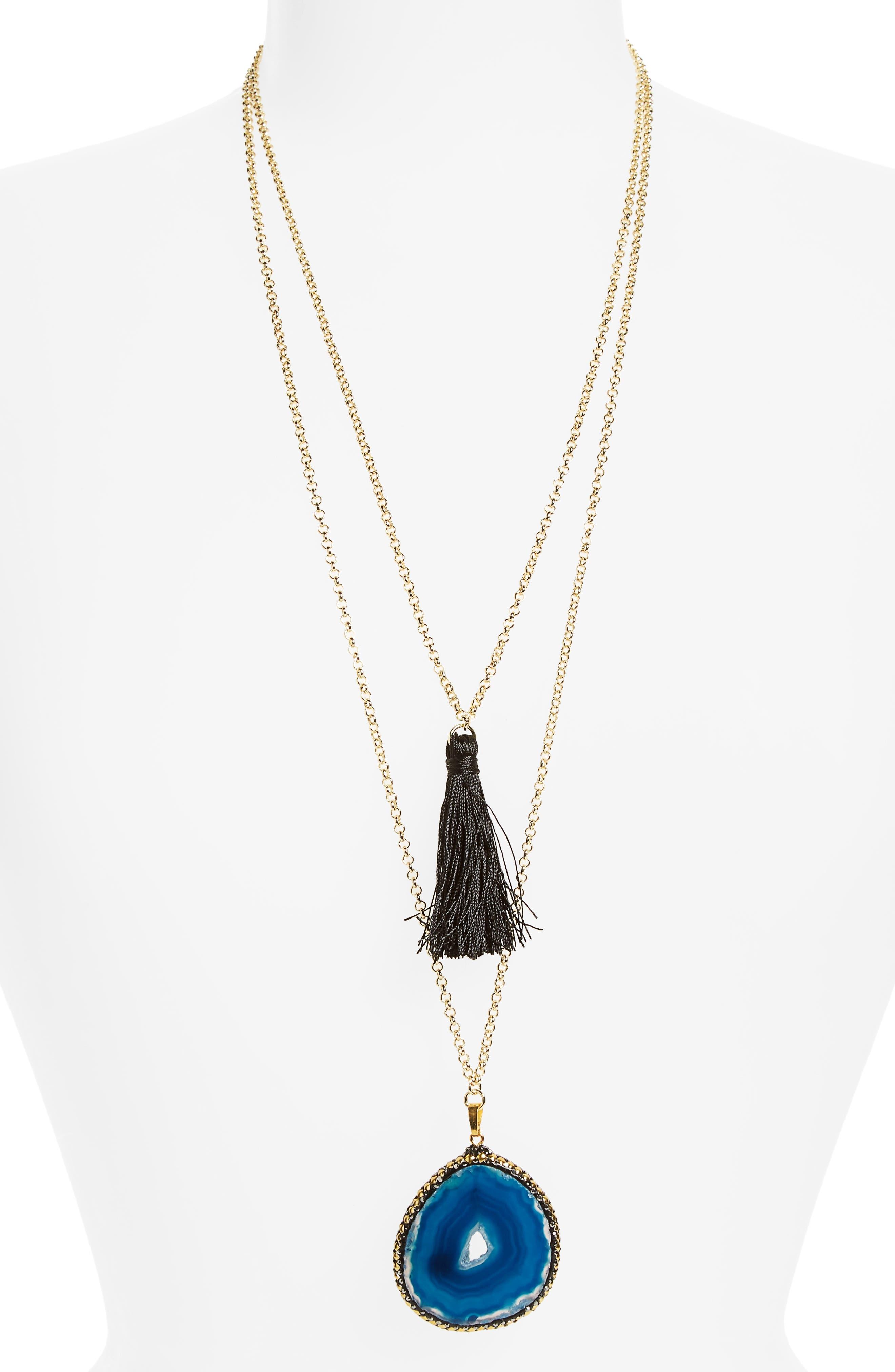 SHASHI Gemma Pendant Necklace