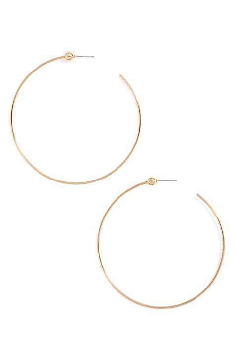 4323bd06d388 Jenny Bird Medium Hoop Earrings