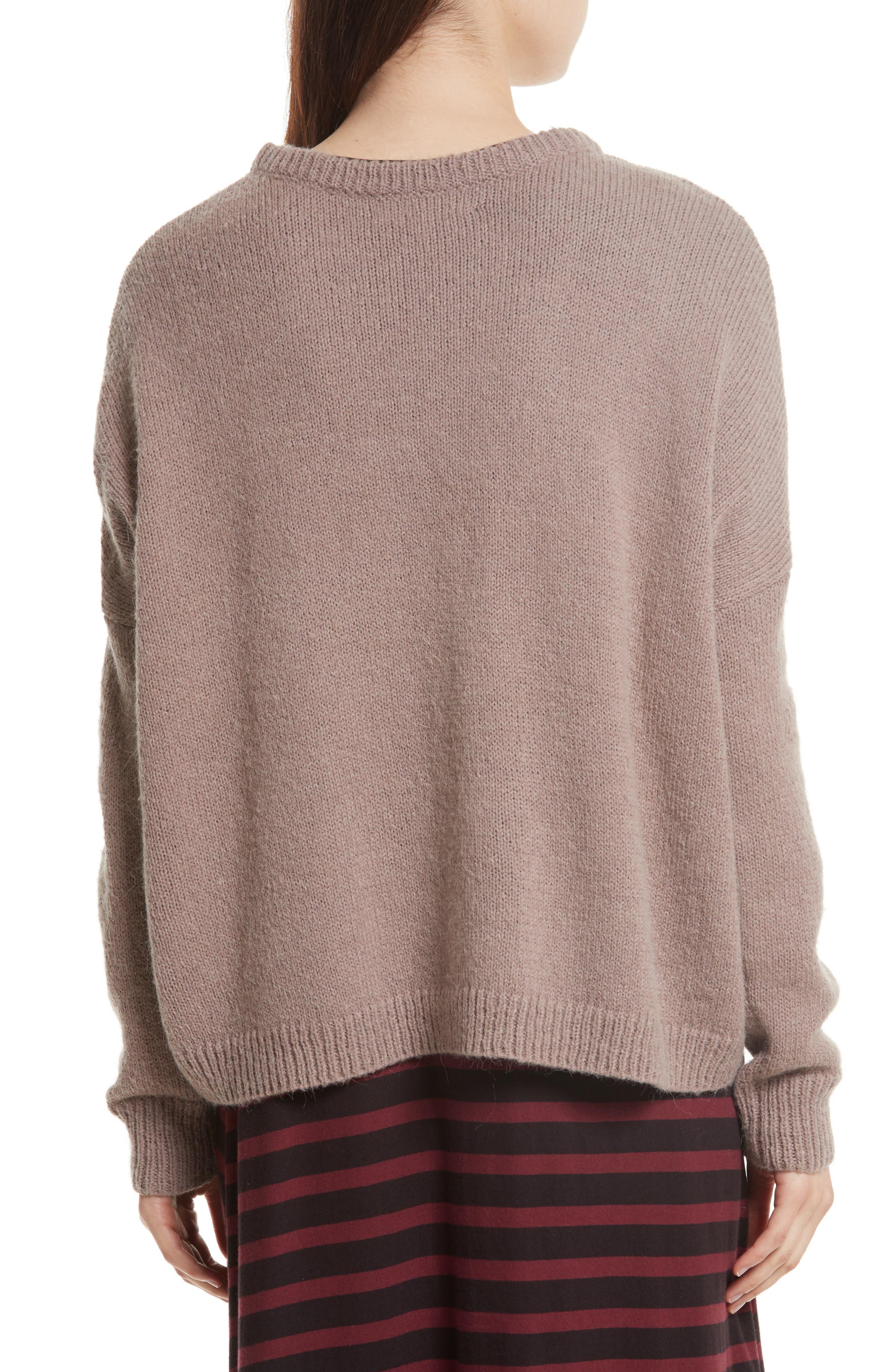 The Argyle Crew Sweater,                             Alternate thumbnail 3, color,                             Prep School Argyle