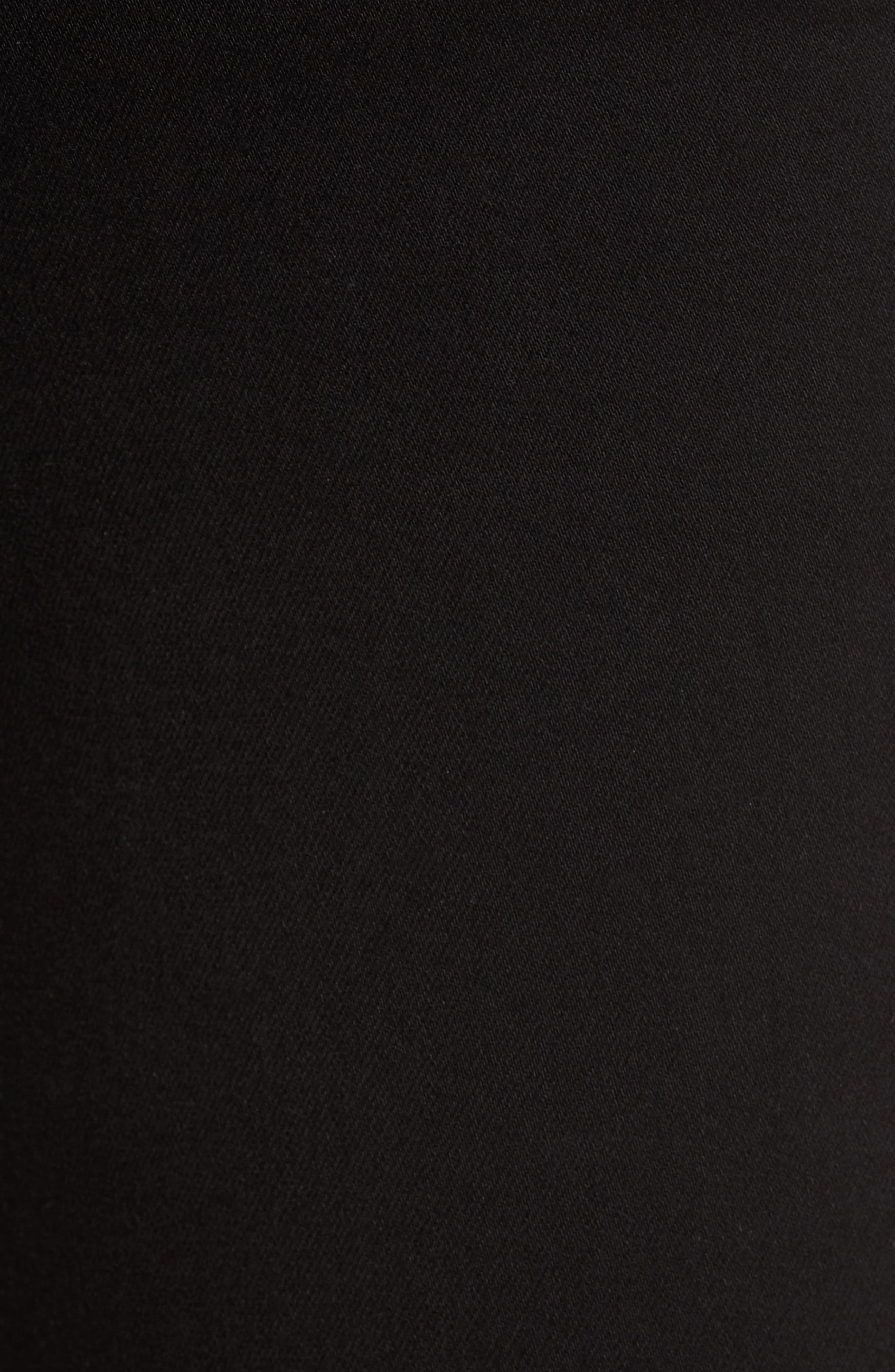 Good Waist Side Triangle Skinny Jeans,                             Alternate thumbnail 5, color,                             Black108