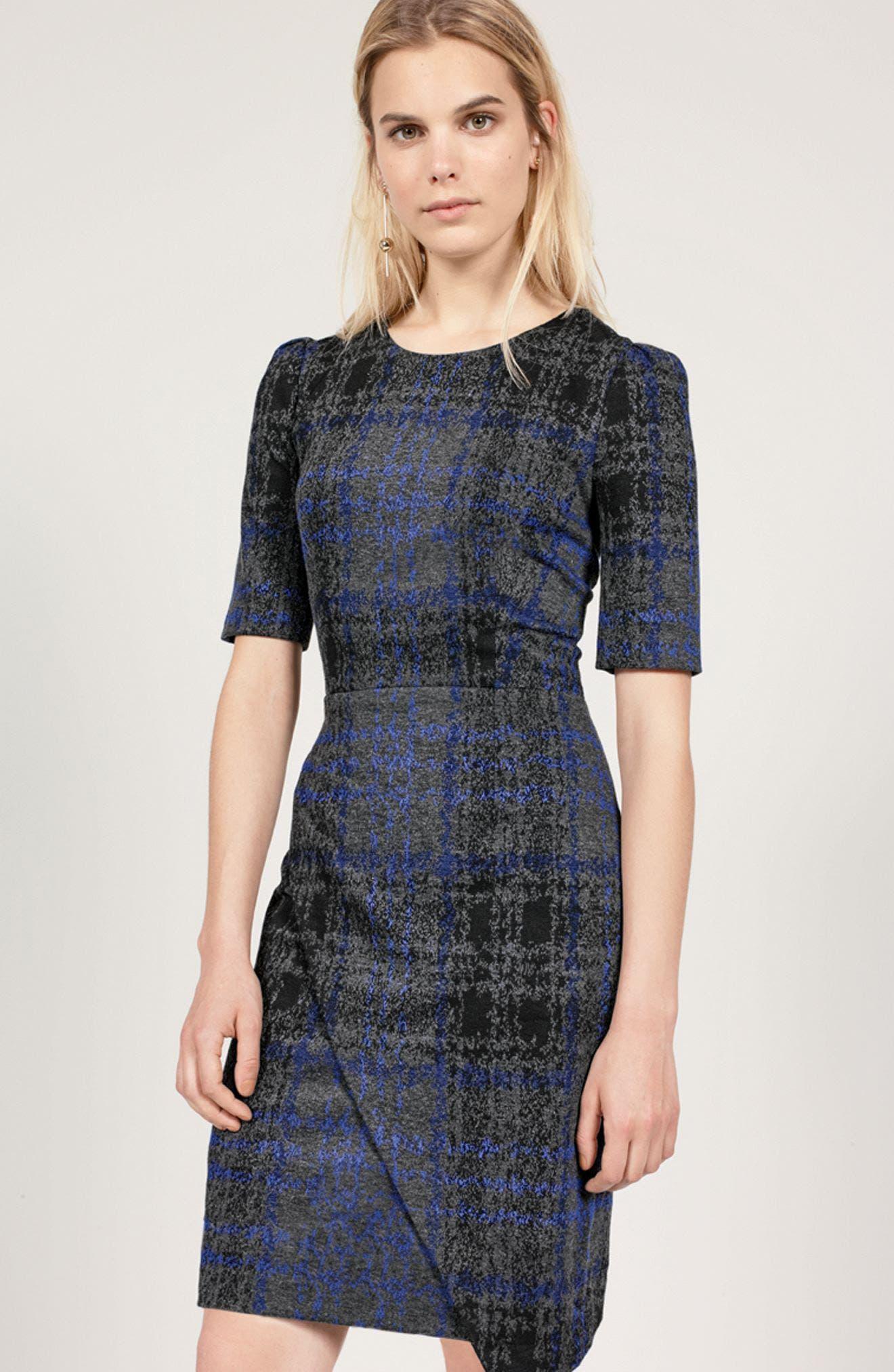 Alternate Image 2  - Betsey Johnson Asymmetrical Dress