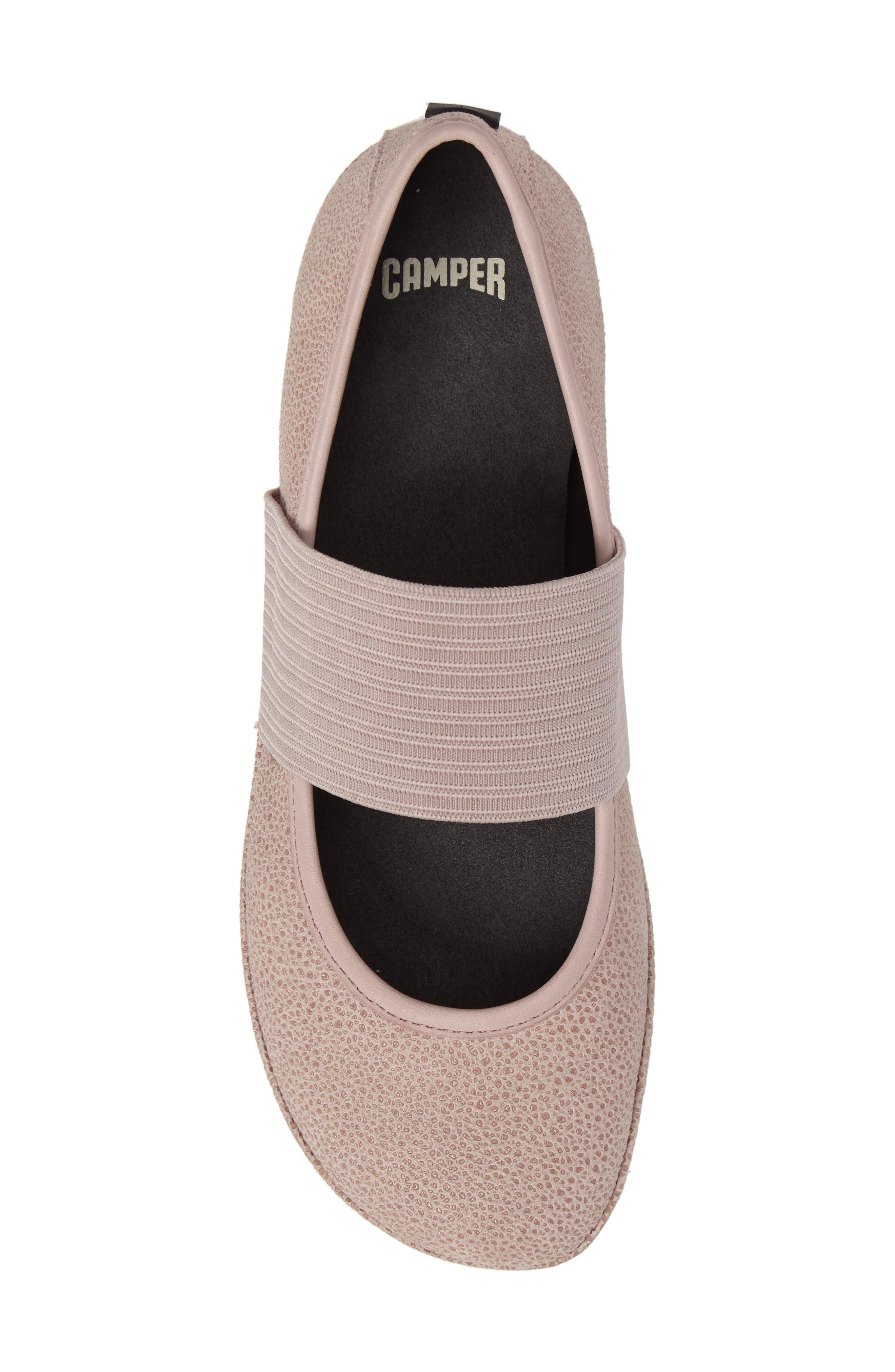 Alternate Image 5  - Camper 'Right Nina' Leather Ballerina Flat (Women)